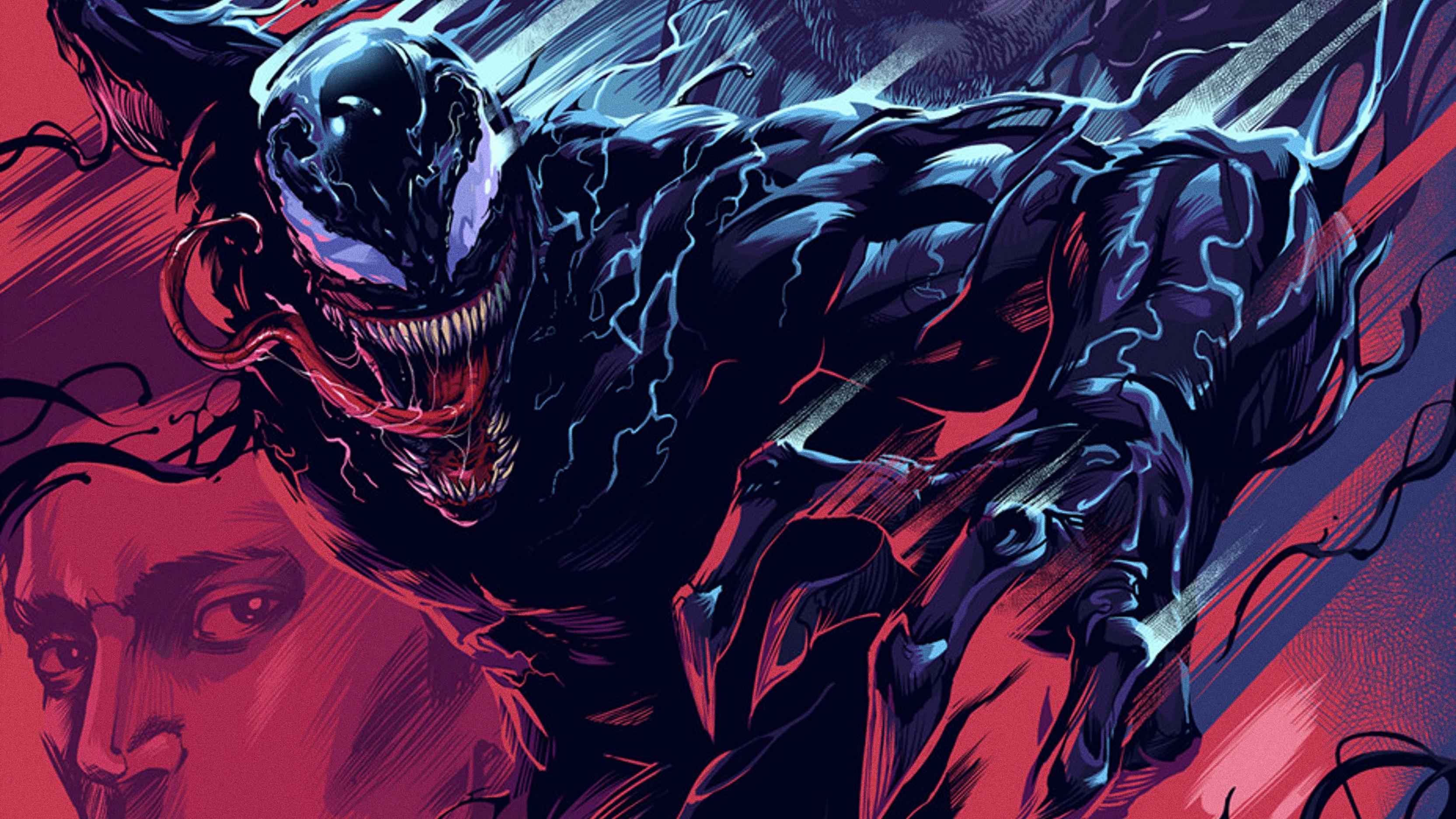 Venom artwork 4k 2018 hd superheroes 4k wallpapers - 4k wallpaper venom ...