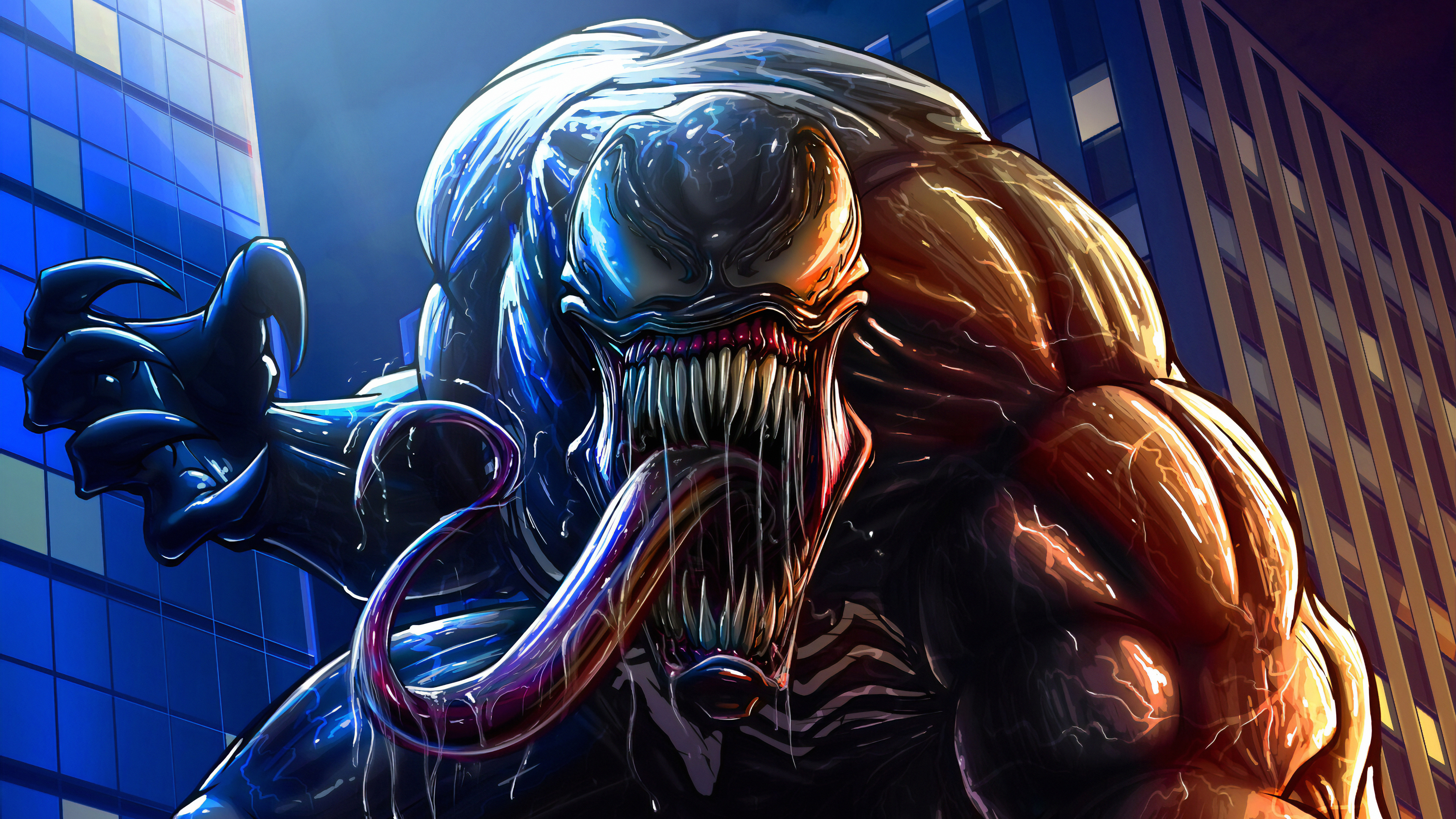 Venom Artwork Ultra Hd 4k Hd Superheroes 4k Wallpapers