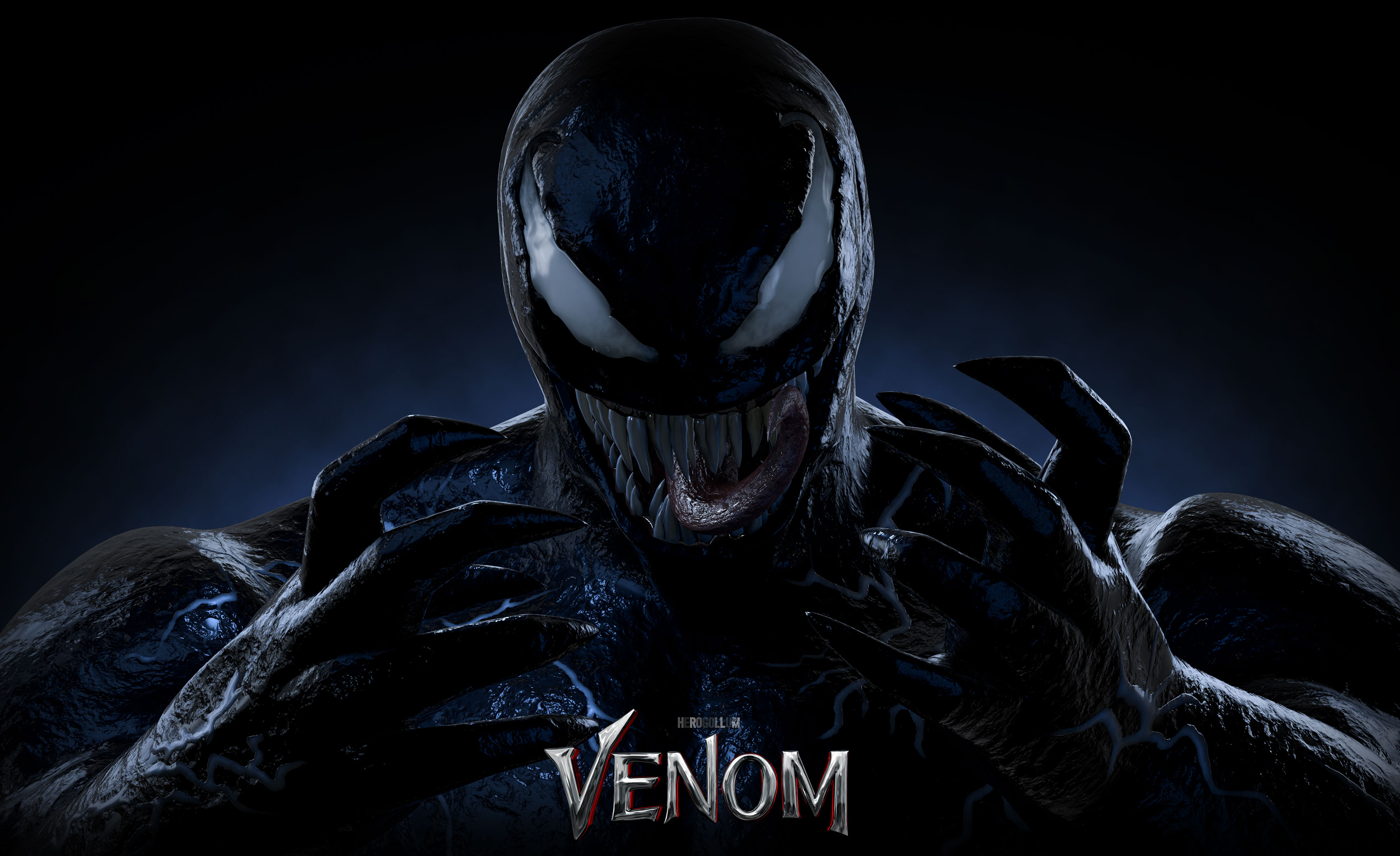 Venom Digital Art 4k 2018 Hd Superheroes 4k Wallpapers Images