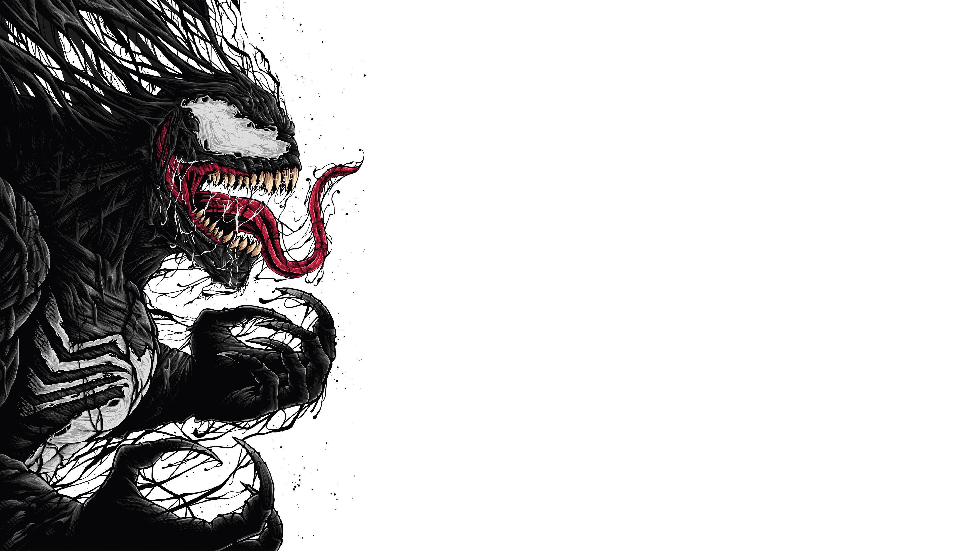 Venom digital fan art 4k hd superheroes 4k wallpapers - 4k wallpaper venom ...