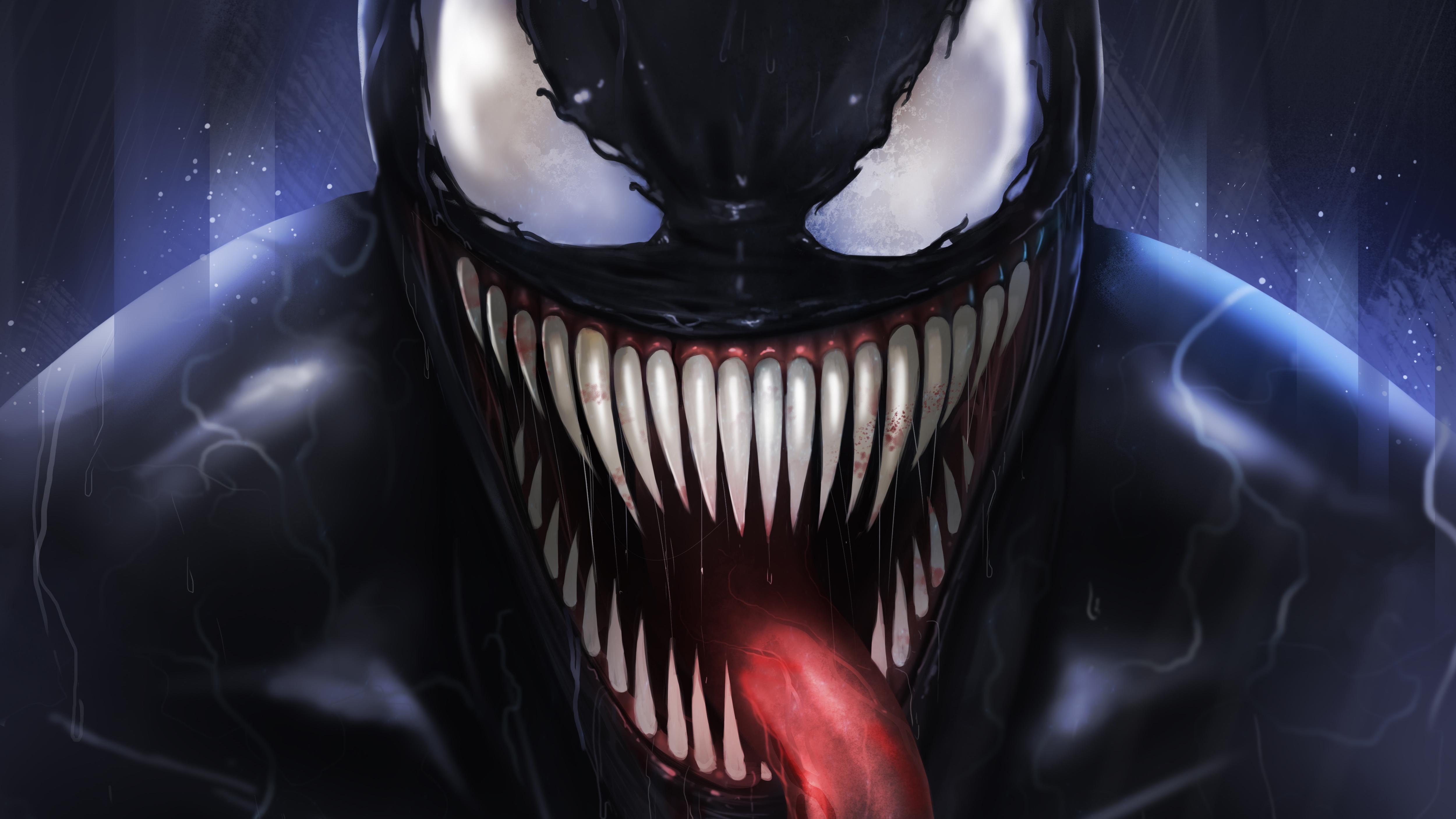 Venom Digital Fan Art 5k, HD Superheroes, 4k Wallpapers ...