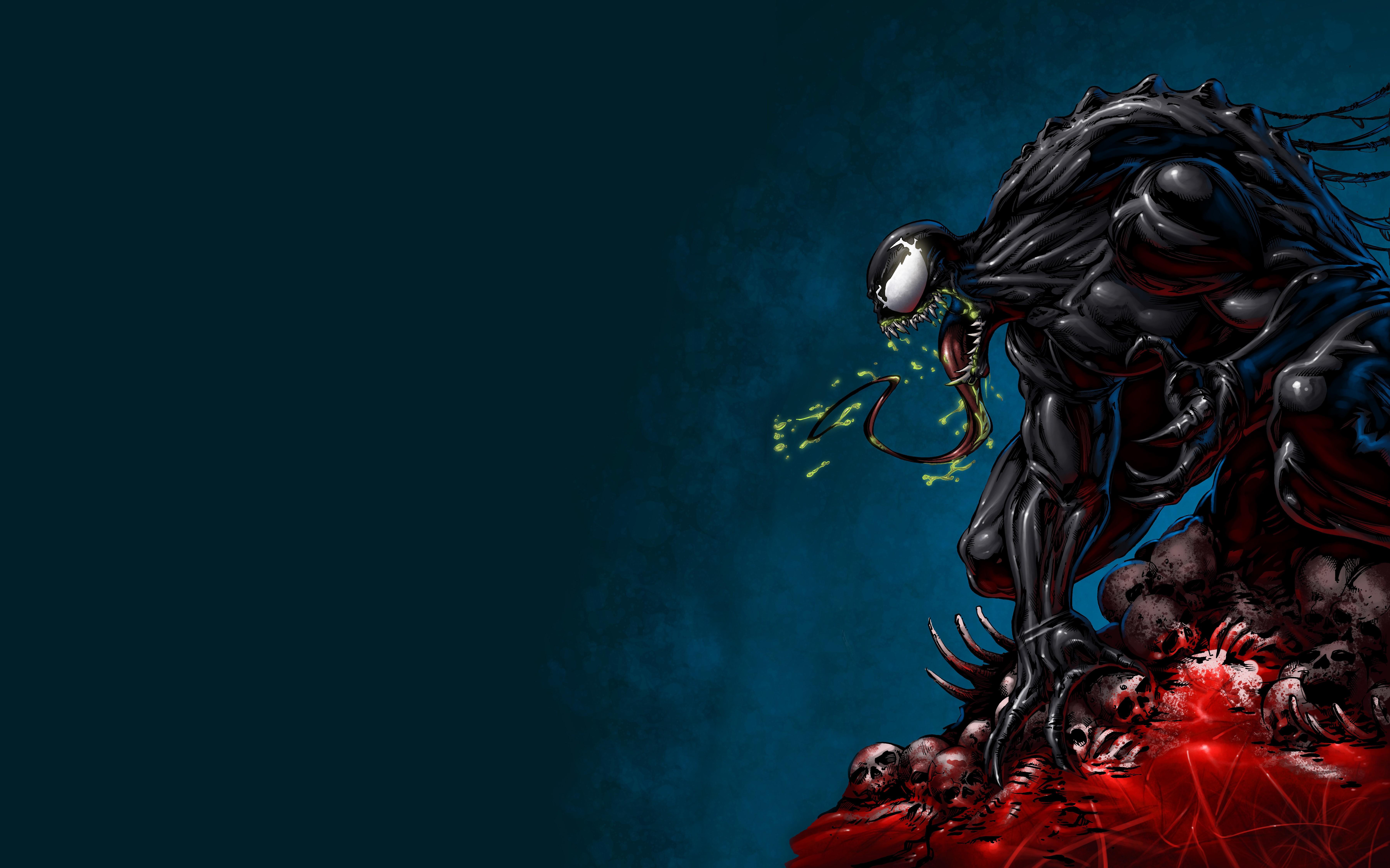 3840x2160 Venom Marvel Comics 8k 4k HD 4k Wallpapers ...