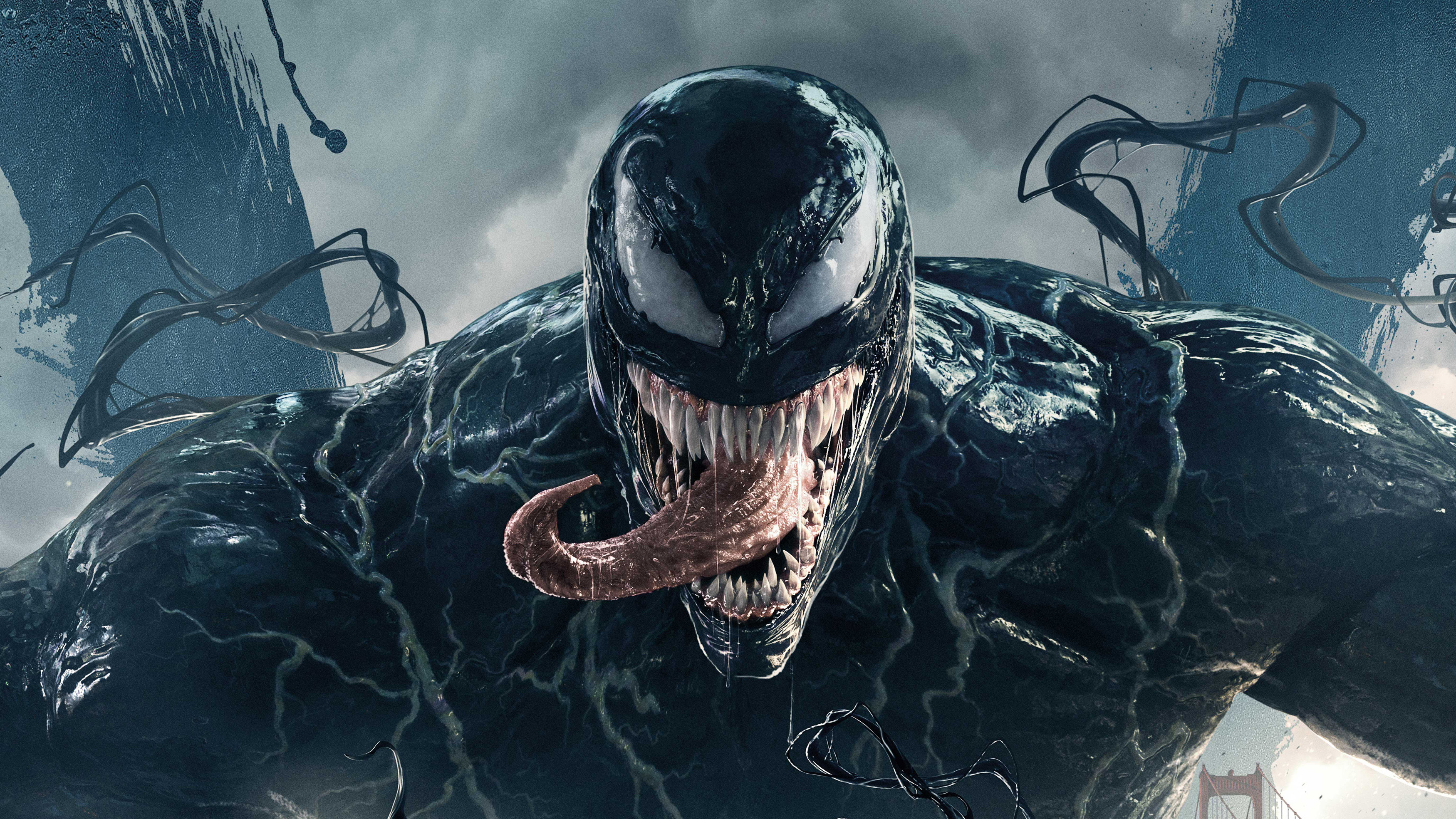 Venom Movie 2018 Official Poster Hd Movies 4k Wallpapers Images