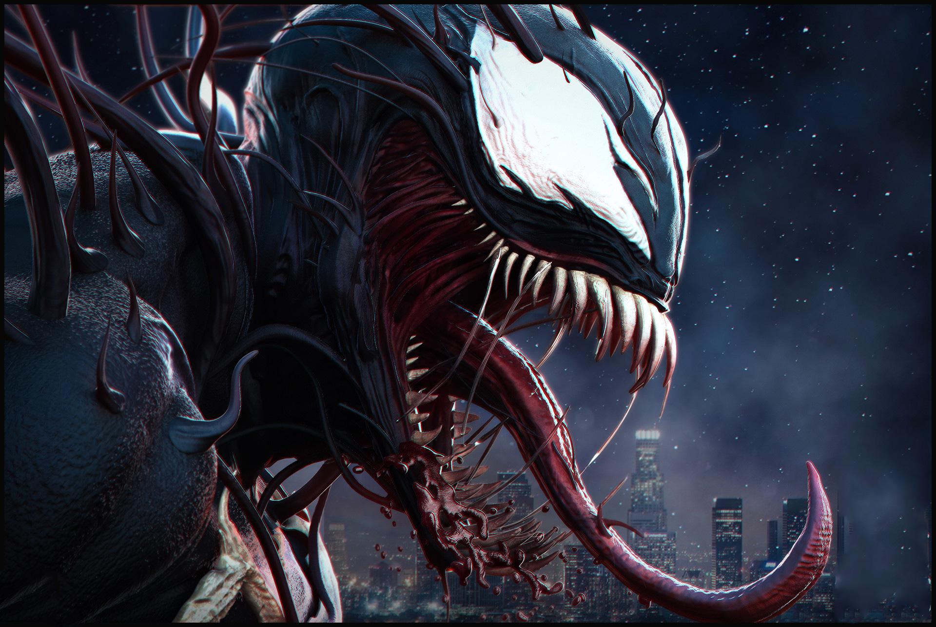 1920x1080 Venom Movie Digital Art Laptop Full HD 1080P HD ...