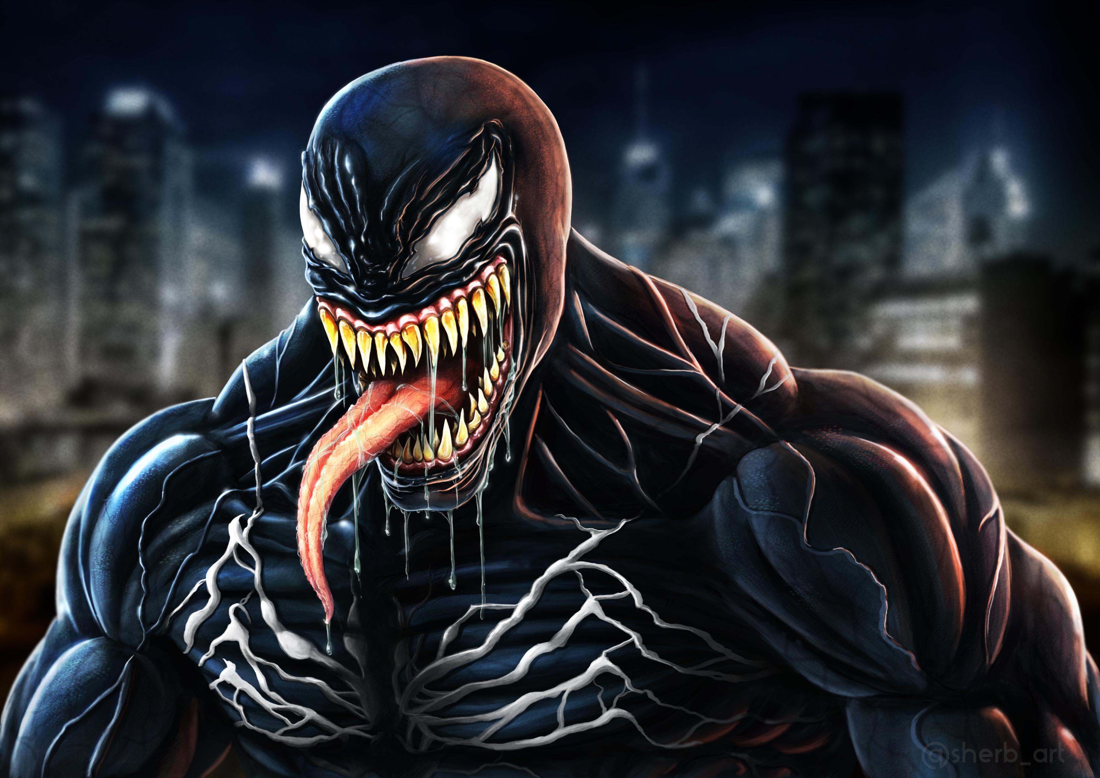 Venom Movie Fan Made Art, HD Superheroes, 4k Wallpapers ...