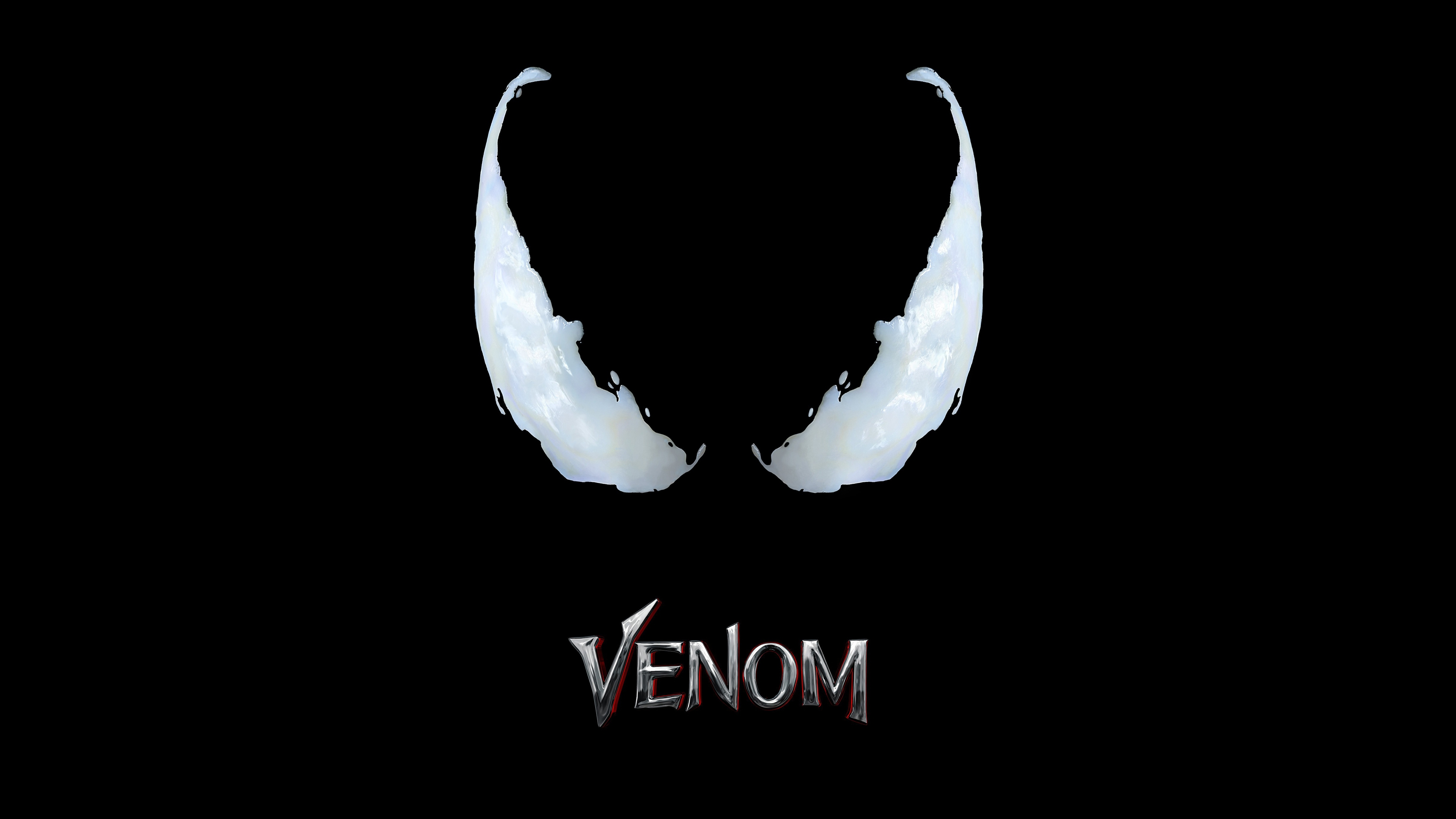 1360x768 venom movie logo 4k laptop hd hd 4k wallpapers images published on february 10 2018 original resolution voltagebd Image collections