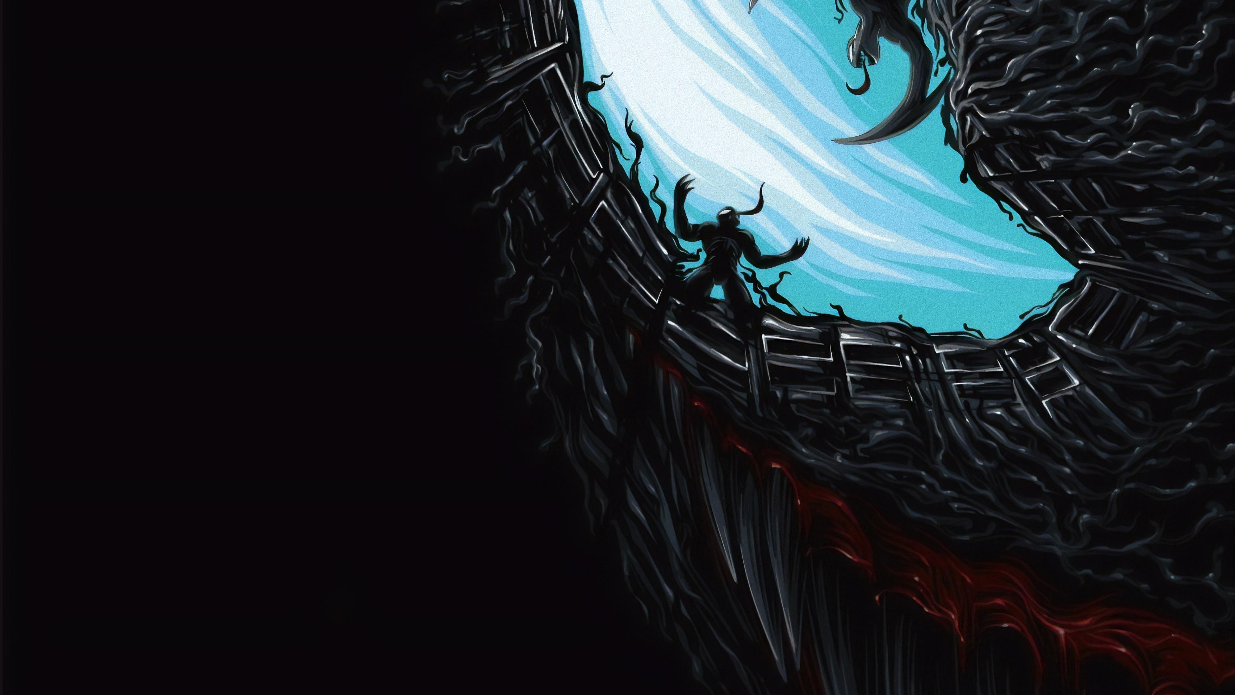 Venom movie new poster artwork hd movies 4k wallpapers - 4k wallpaper venom ...