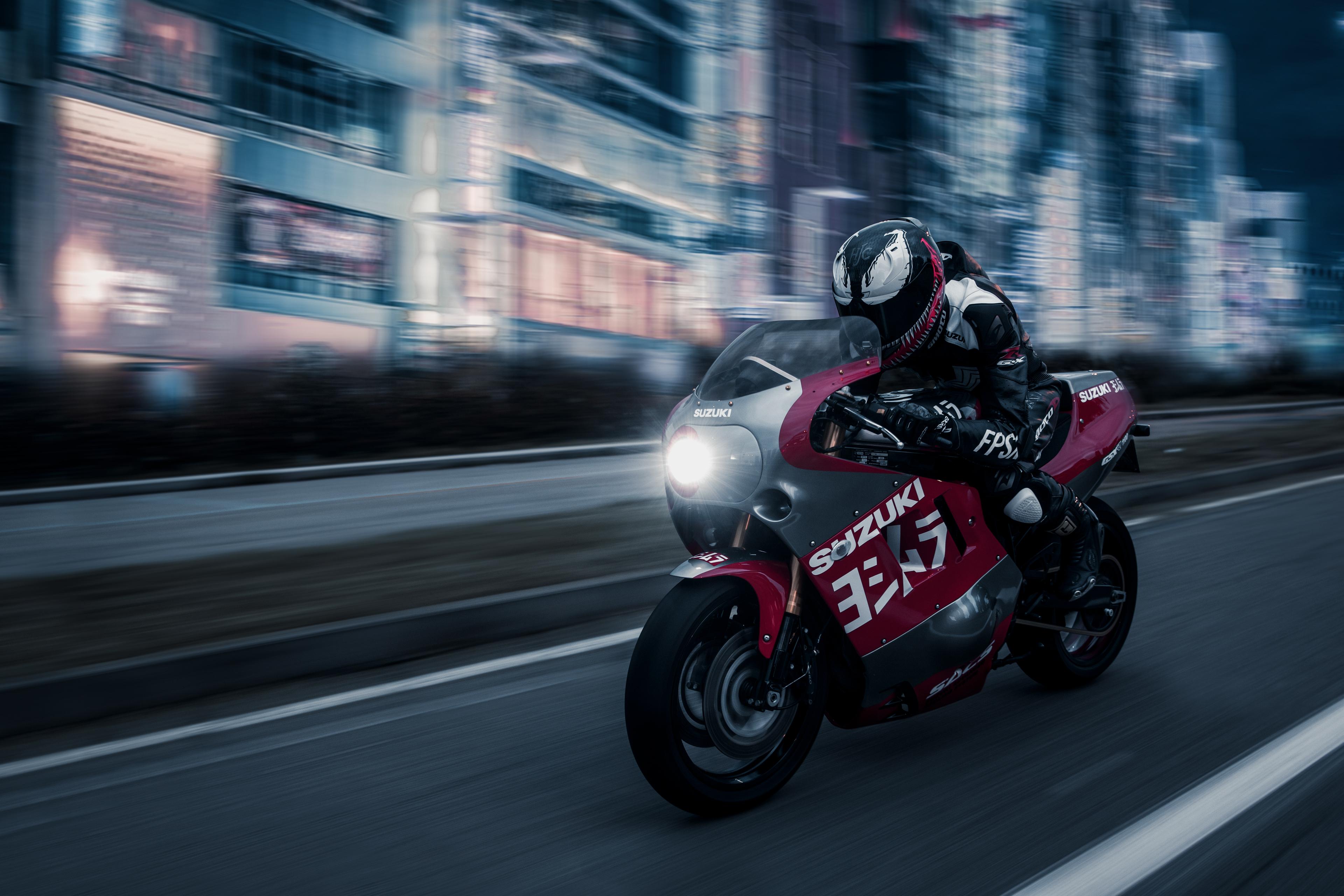 Venom Suzuki GSX R 1100, HD Bikes, 4k Wallpapers, Images