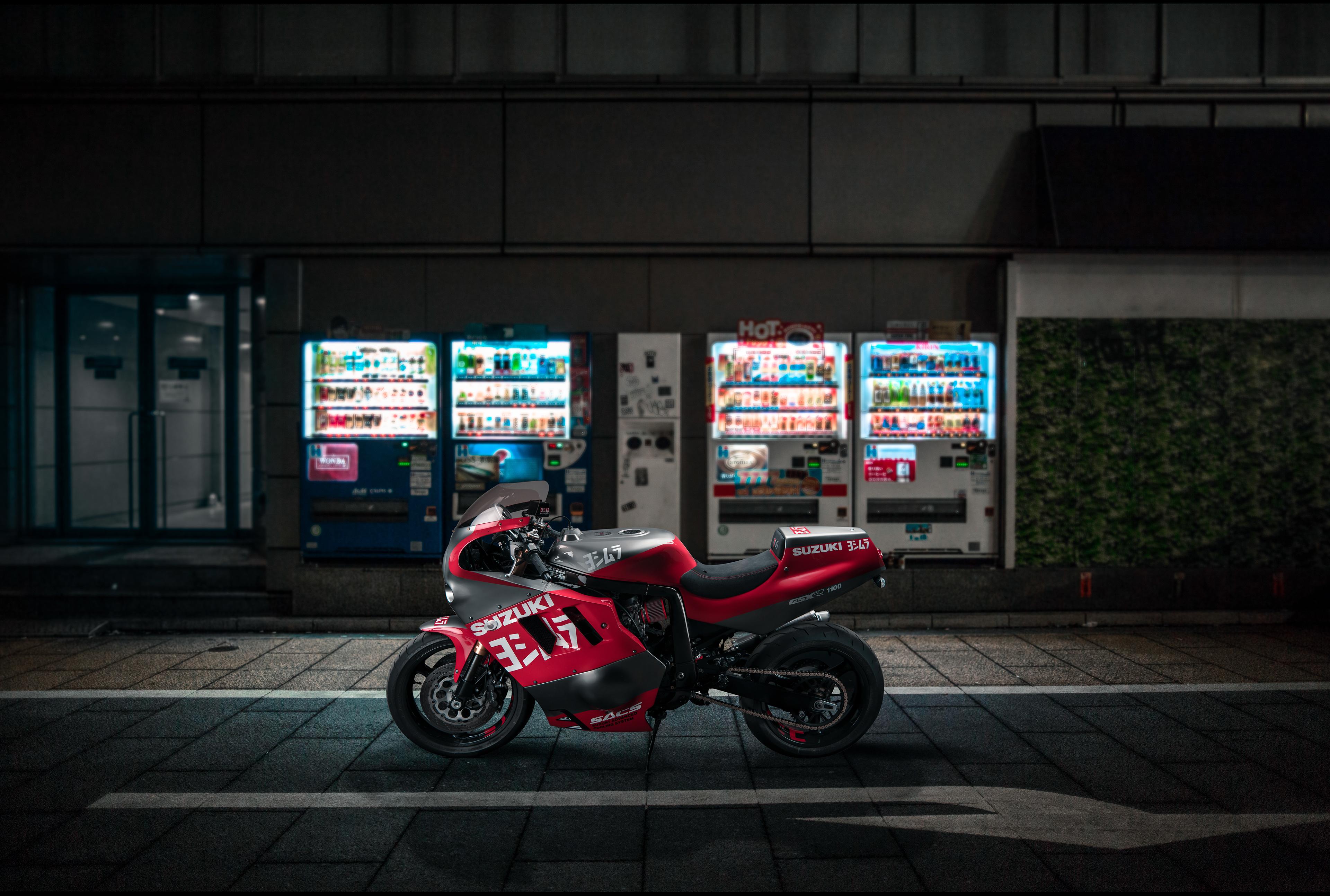 Venom Suzuki GSXR 1100, HD Bikes, 4k Wallpapers, Images