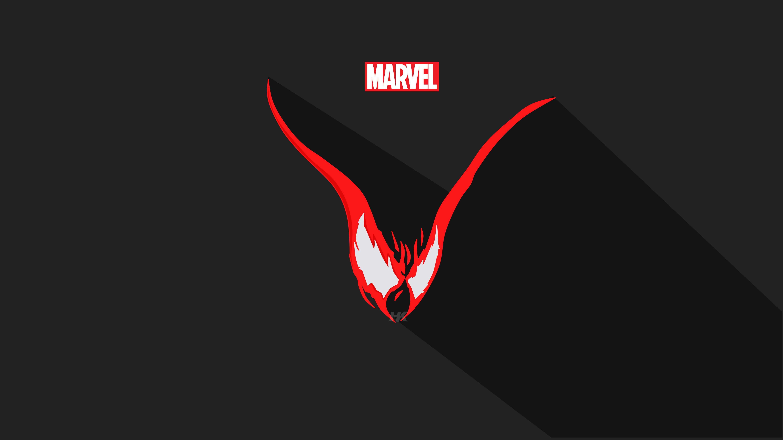 Venom Vector Minimalism 5k, HD Superheroes, 4k Wallpapers