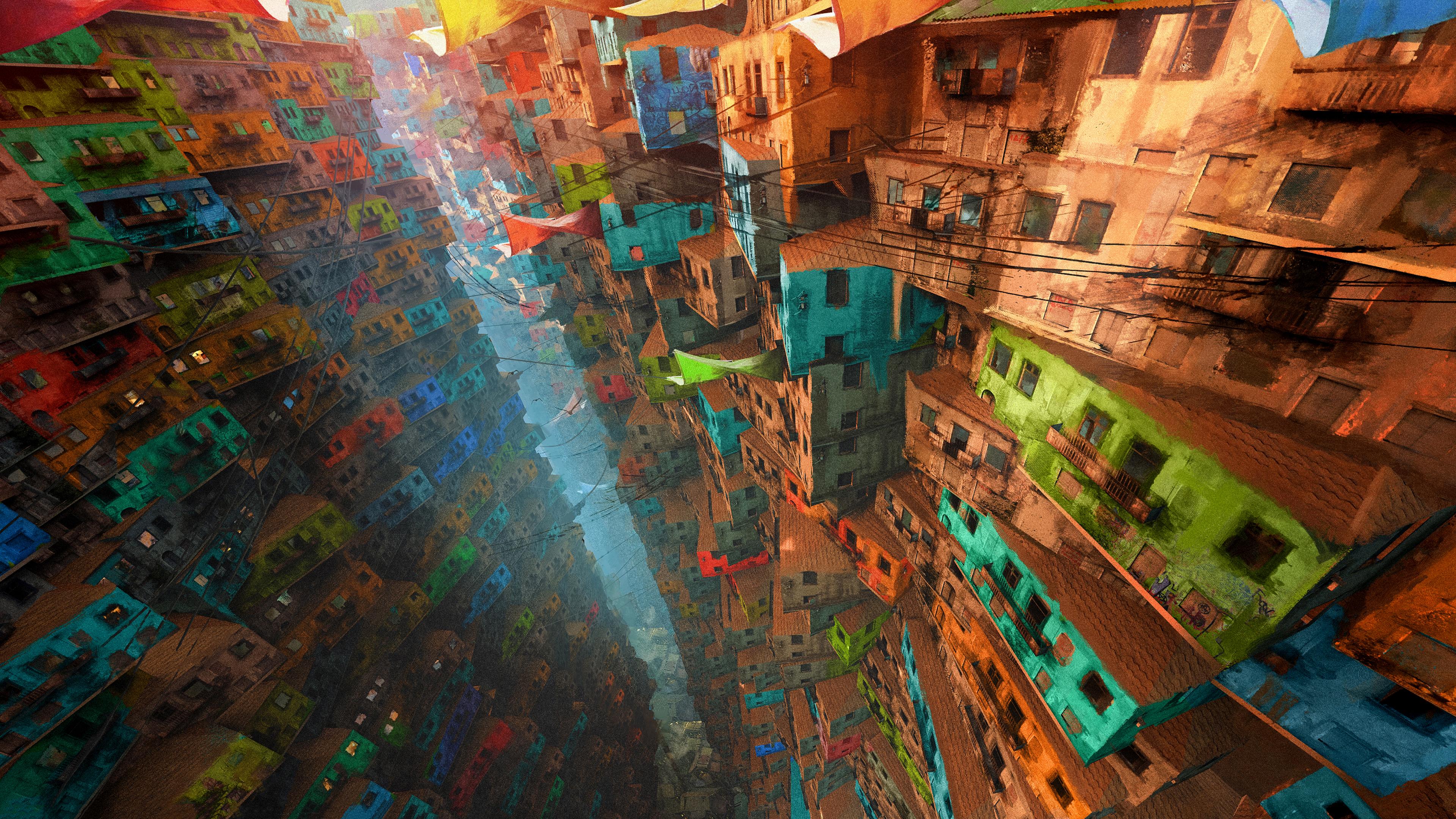 3840x2160 Vertical Village 4k 4k HD 4k Wallpapers, Images ...