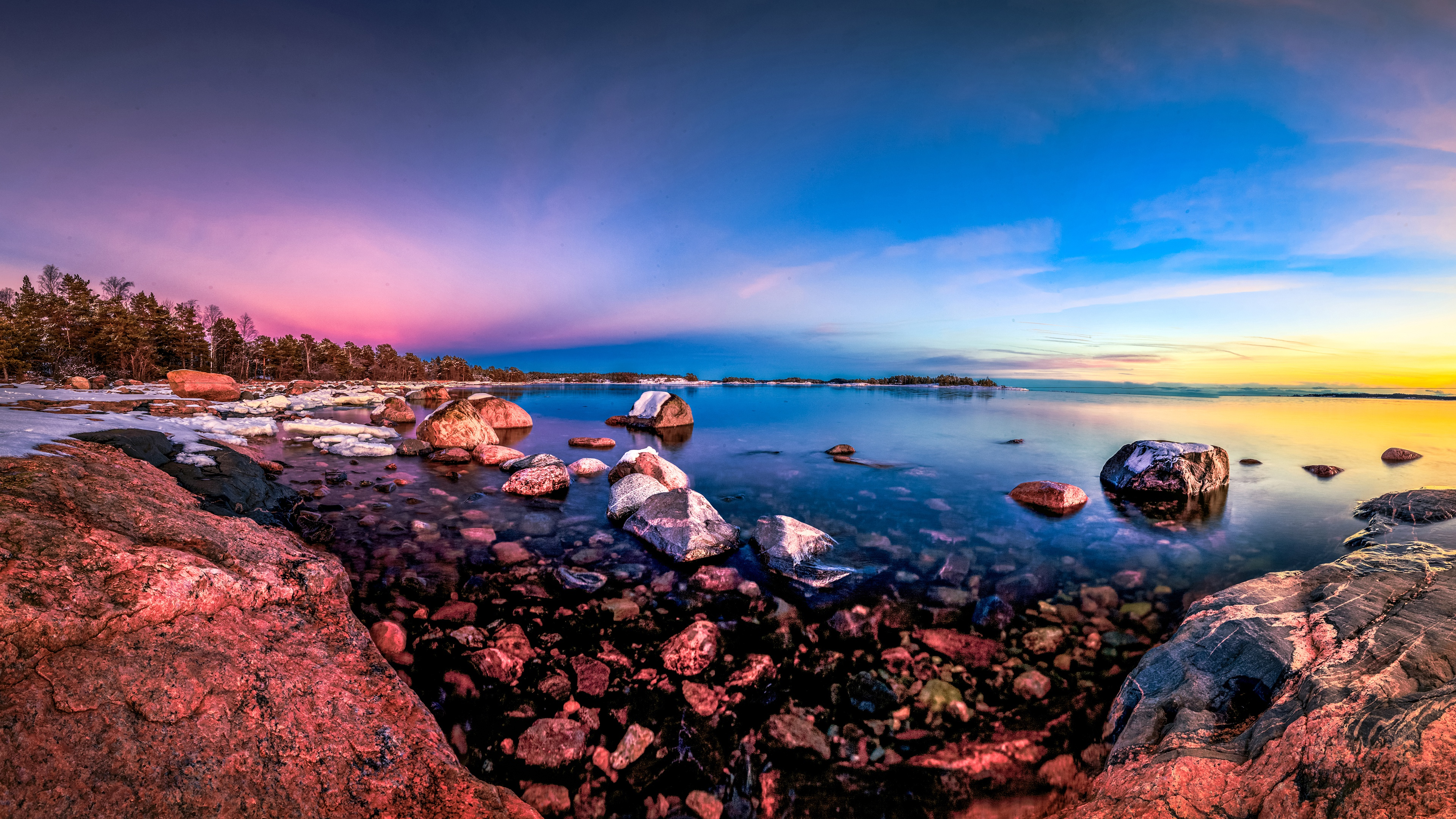 Vibrant Nature Ocean 4k, HD Nature, 4k Wallpapers, Images ...