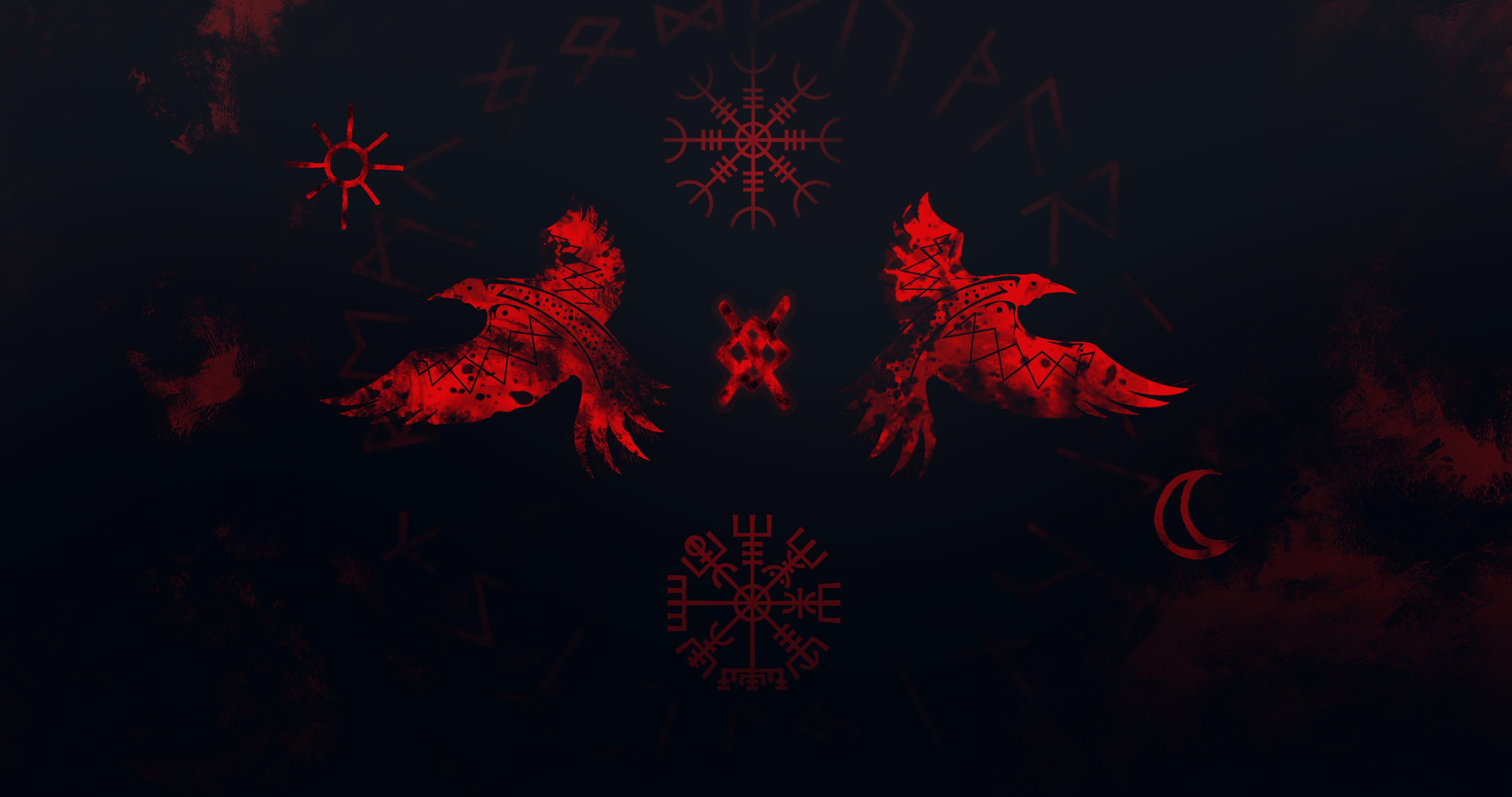 Vikings Raven 4k, HD Artist, 4k Wallpapers, Images ...