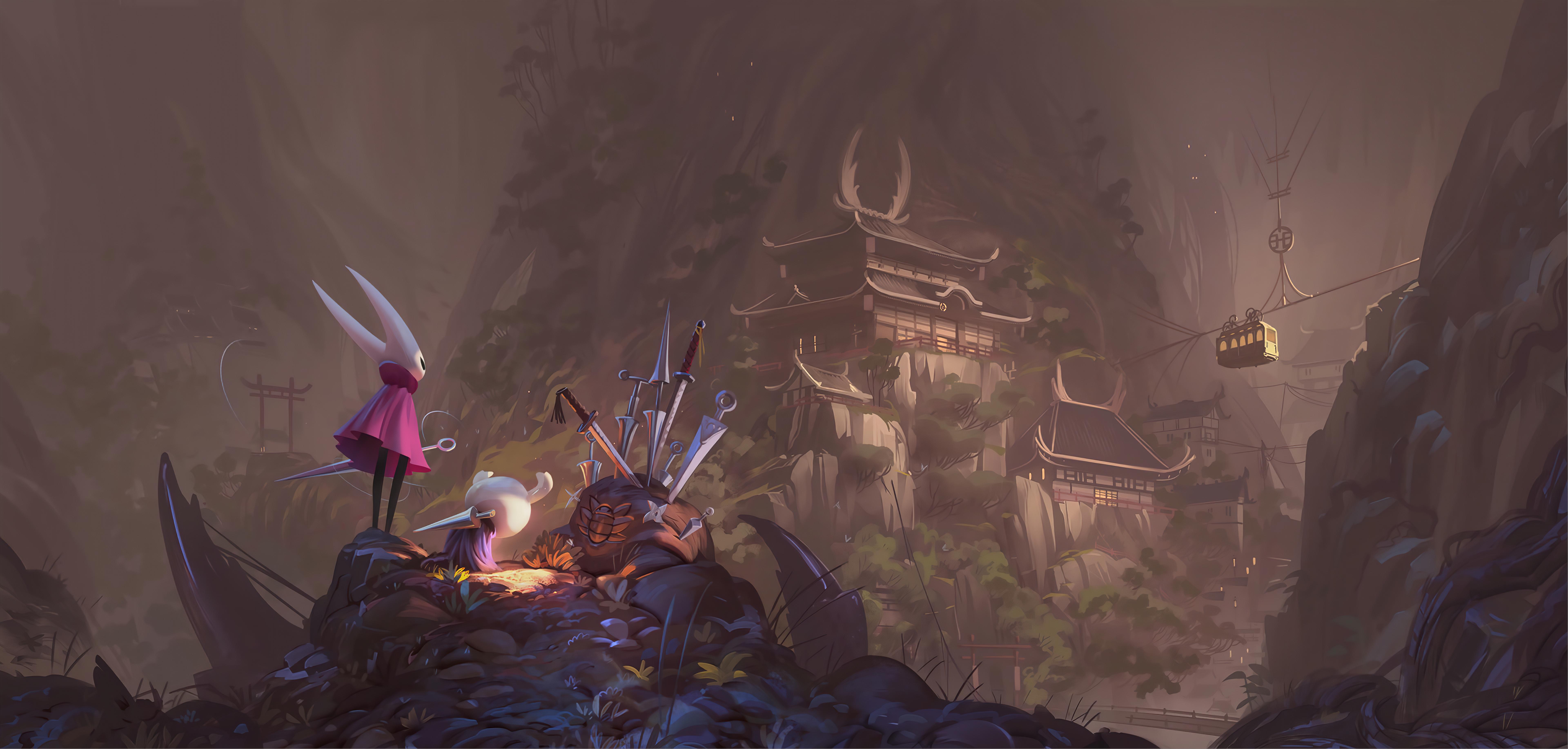 2560x1080 Final Fantasy Xv Artwork 2560x1080 Resolution Hd: 2560x1080 Vincent Bisschop Hollow Knight Fantasy Art 8k