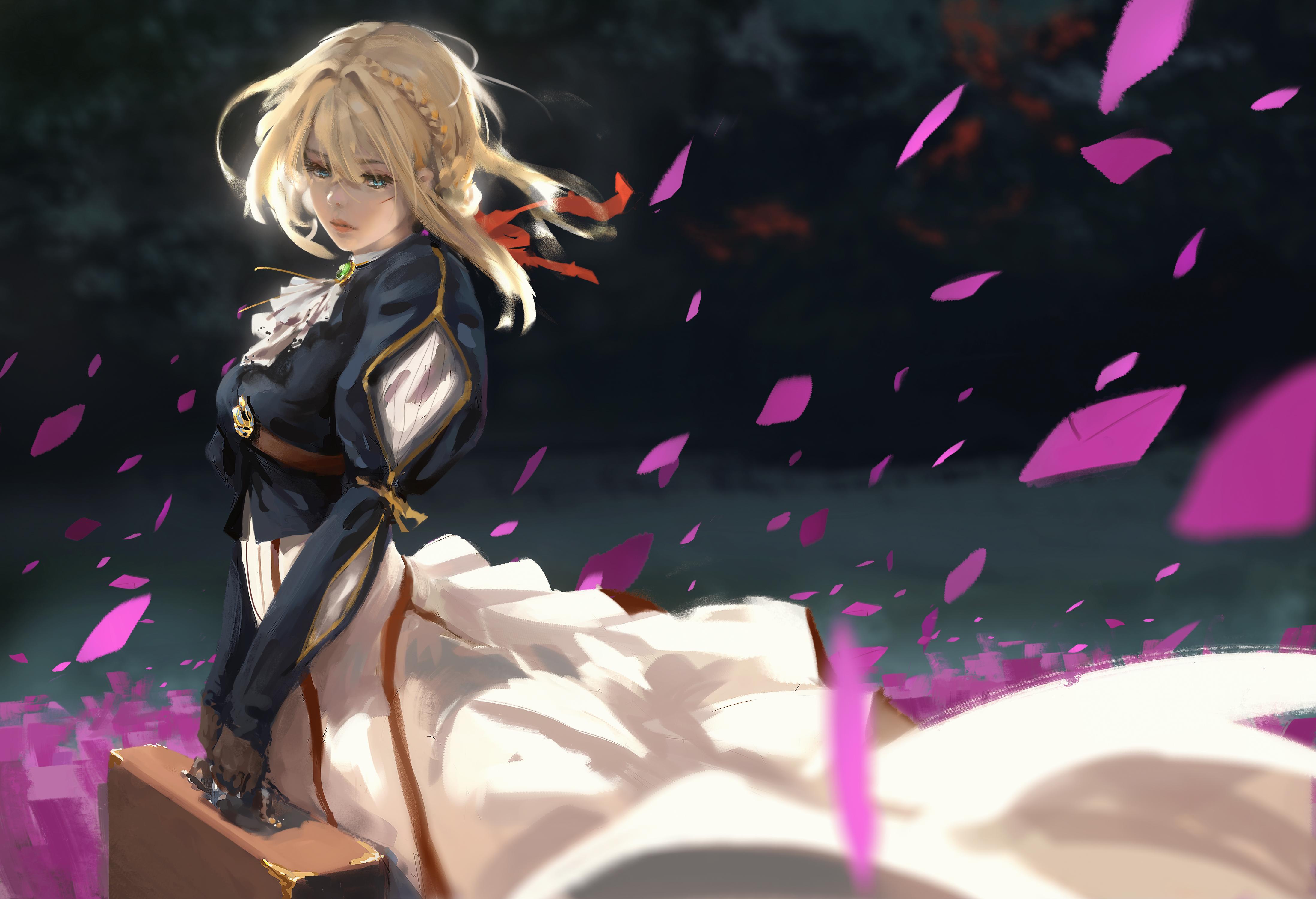 Violet Evergarden Fanart 4k, HD Anime, 4k Wallpapers ...