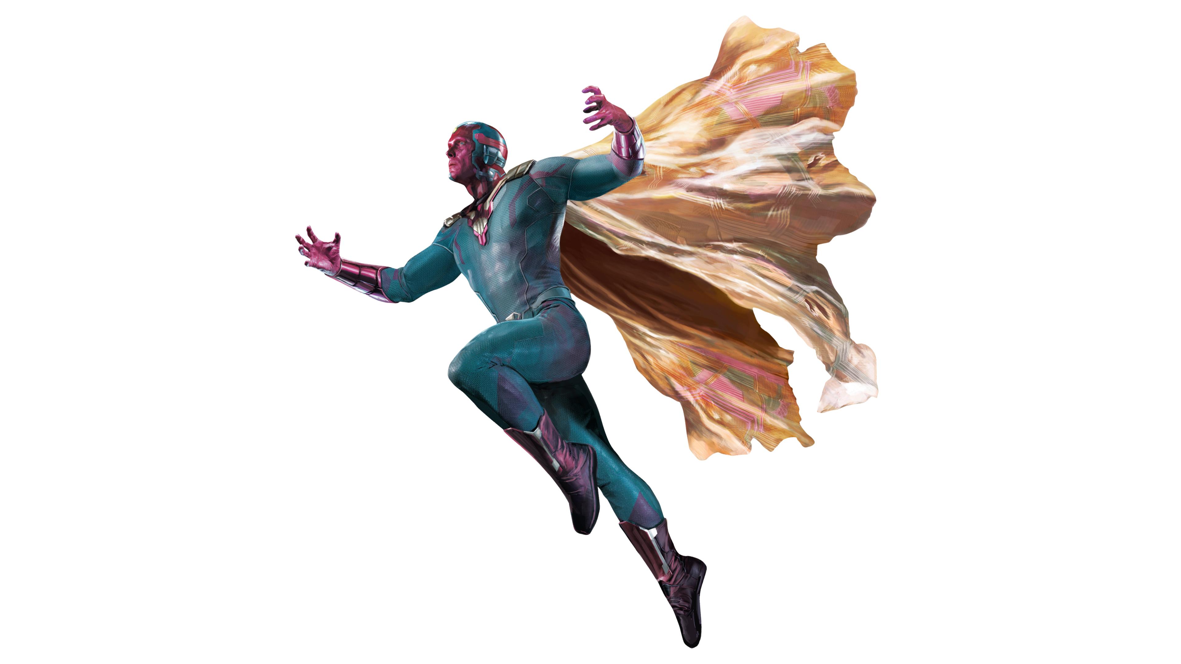 2048x2048 Venom 2018 Movie 4k Ipad Air Hd 4k Wallpapers: 2048x2048 Vision In Avengers Infinity War 2018 Ipad Air HD