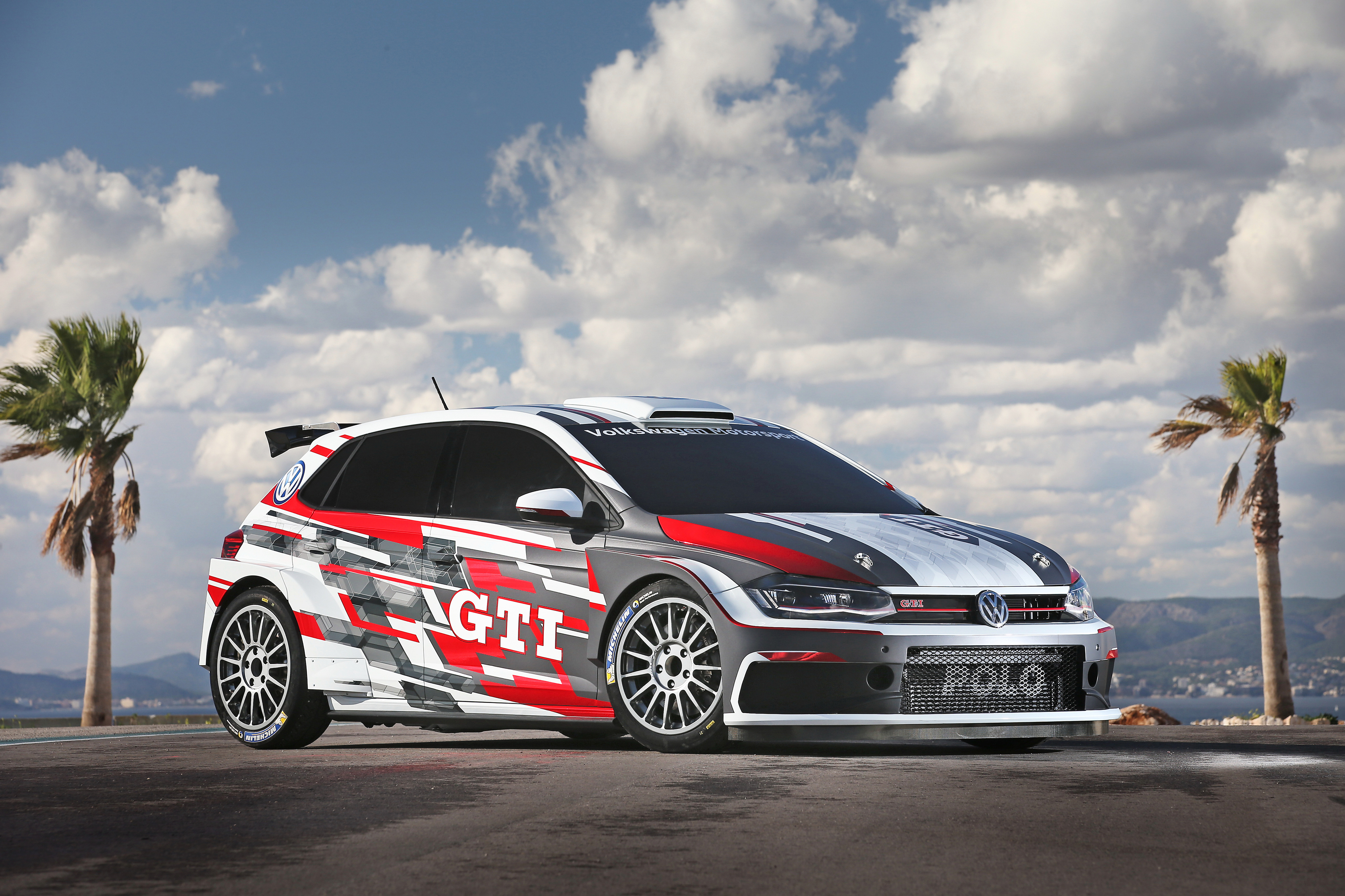 volkswagen polo gti r5 2018 4k, hd cars, 4k wallpapers, images