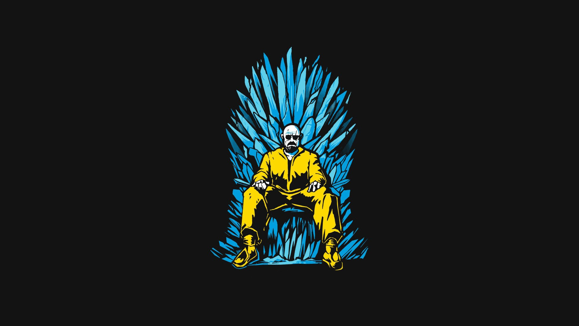 Walter White Game Of Thrones Minimalism, HD Tv Shows, 4k