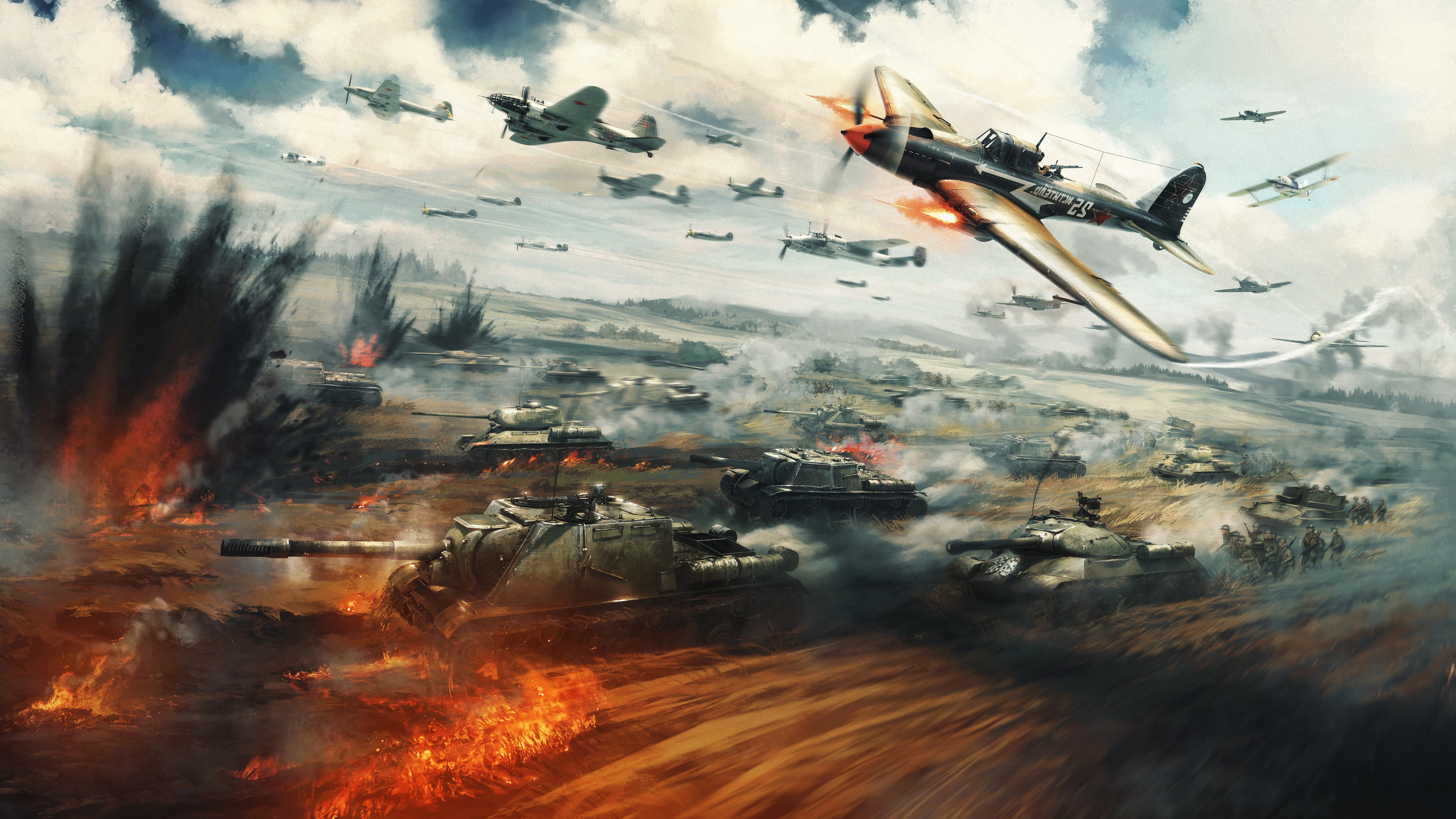 War Thunder 4k, HD Games, 4k Wallpapers, Images