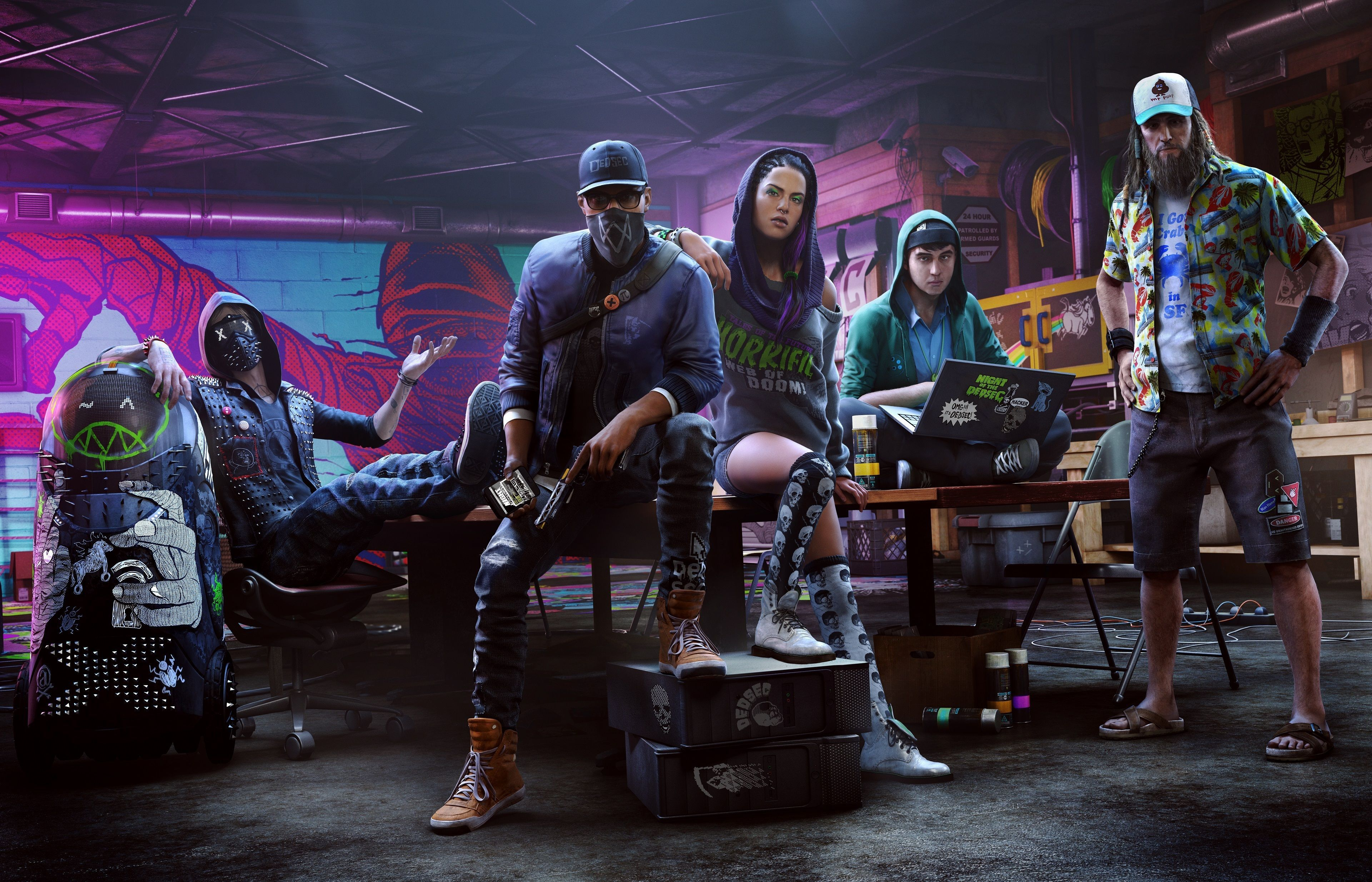 2048x2048 Watch Dogs 2 4k Game Ipad Air Hd 4k Wallpapers