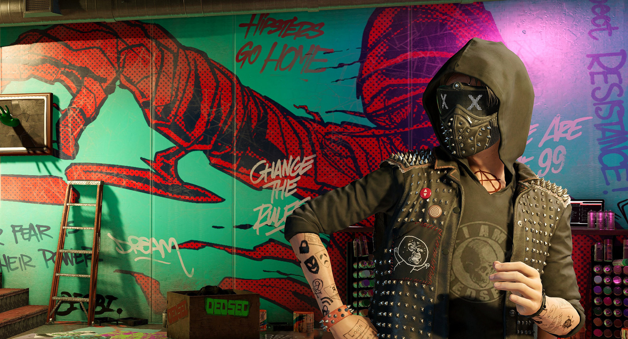 Watch Dogs 2 Hd 1080P, HD Games, 4k Wallpapers, Images