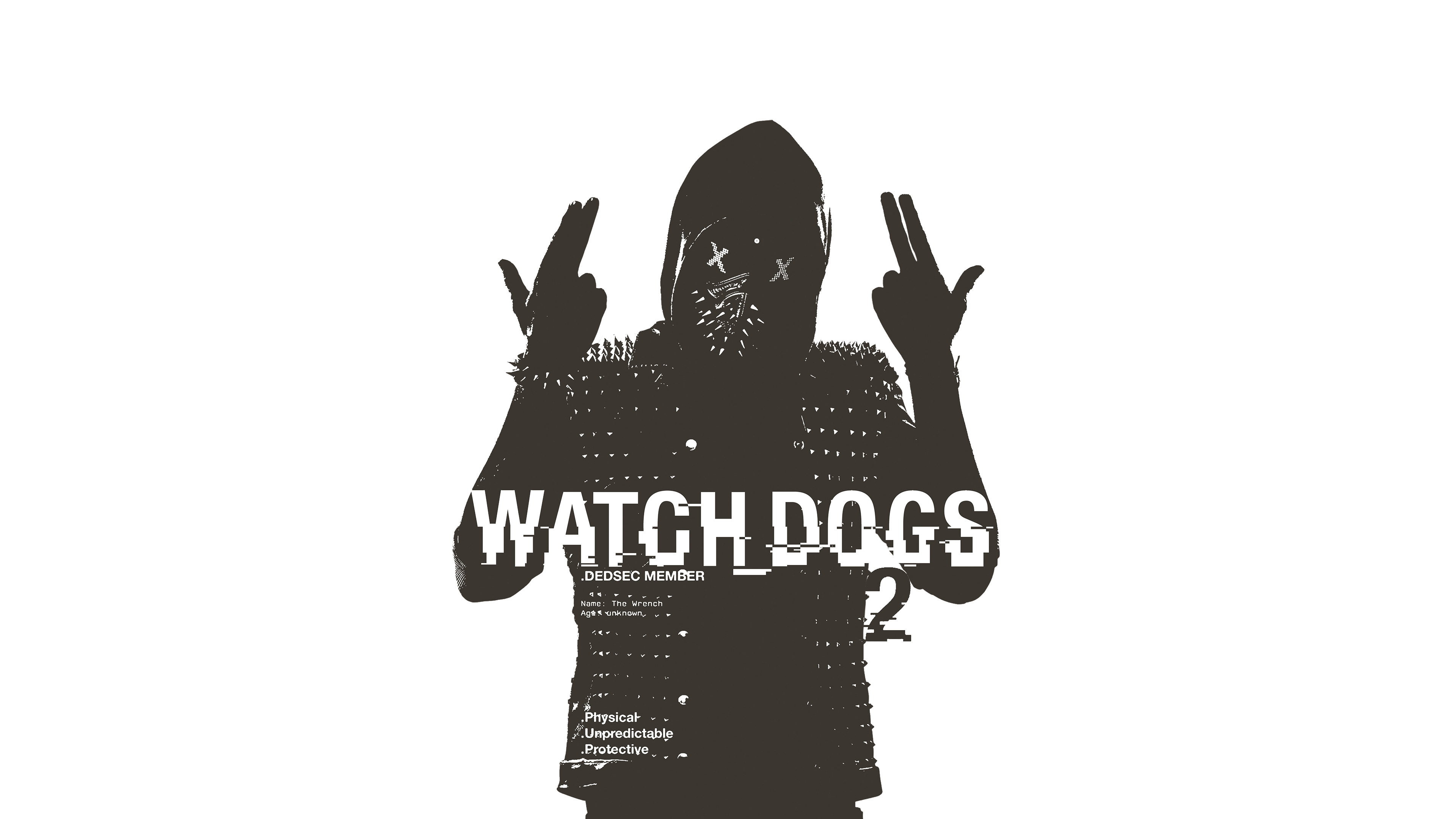Watch Dogs High Resolution Games Hd Wallpaper For Mobile: Watch Dogs 2 Wrench Poster, HD Games, 4k Wallpapers