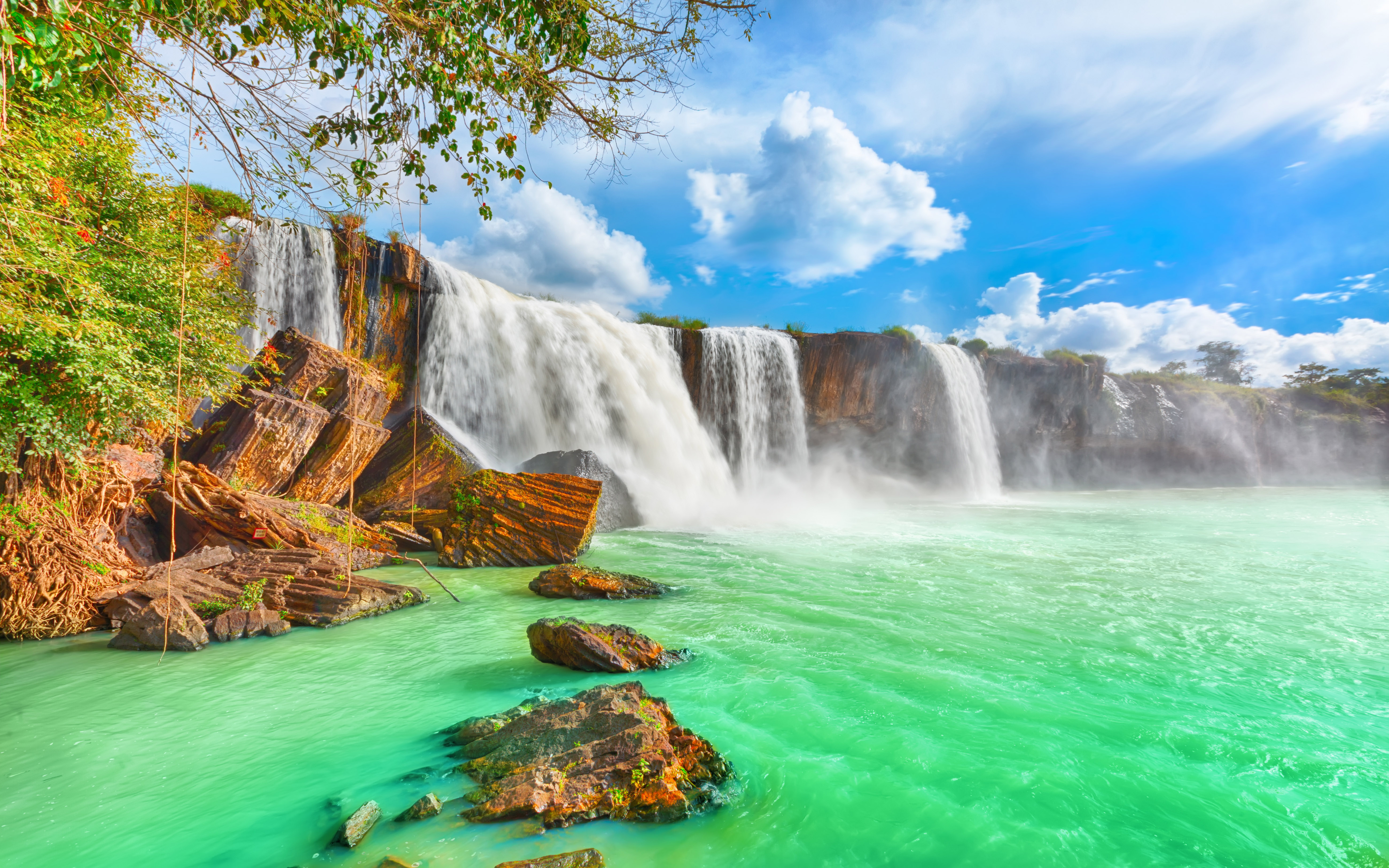 Waterfall 5k HD Nature 4k Wallpapers Images Backgrounds Photos
