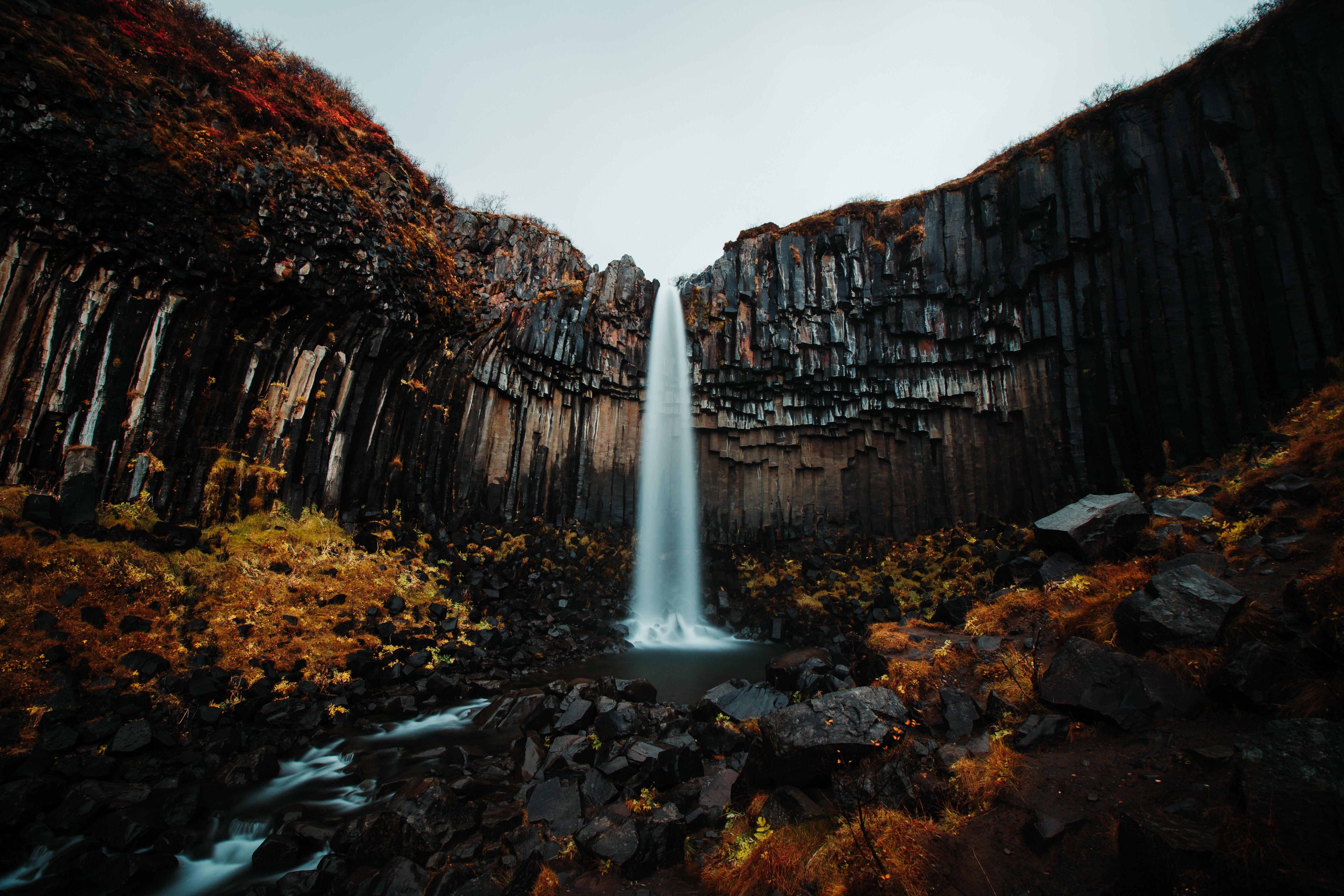 Waterfall Forest 5k, HD Nature, 4k Wallpapers, Images