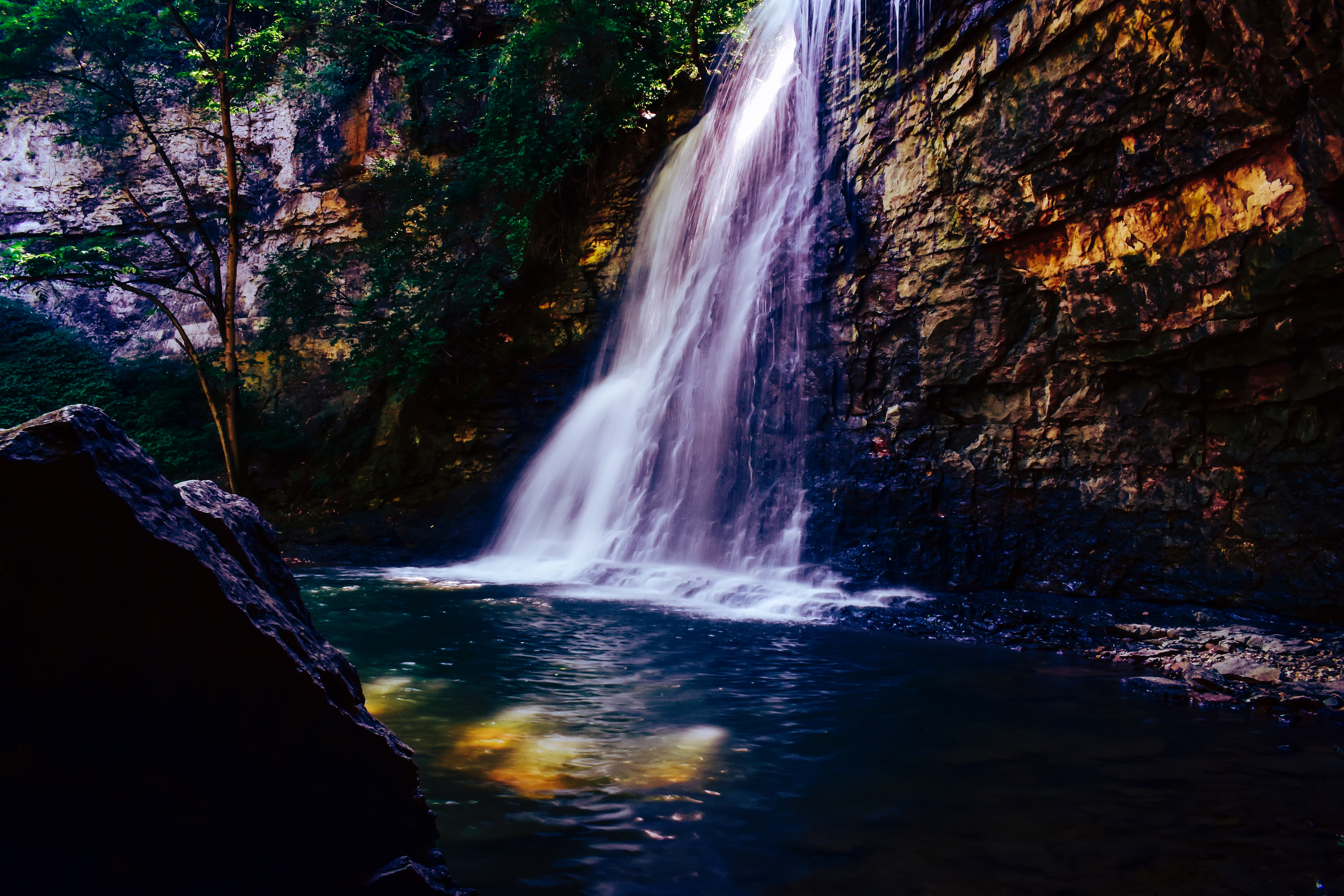 Waterfall Scenery 5k, HD Nature, 4k Wallpapers, Images ...