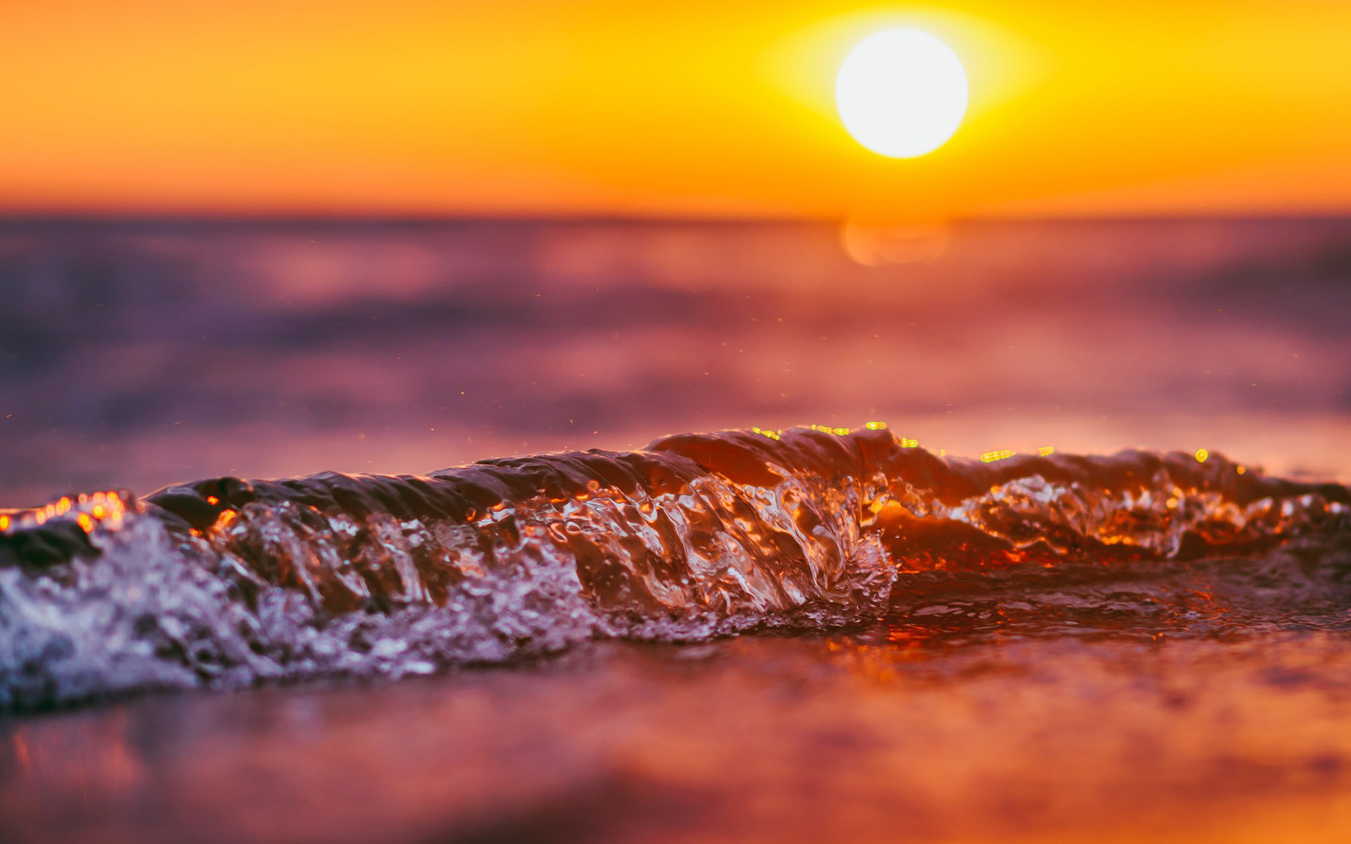 Wave Sunset, HD Nature, 4k Wallpapers, Images, Backgrounds ...