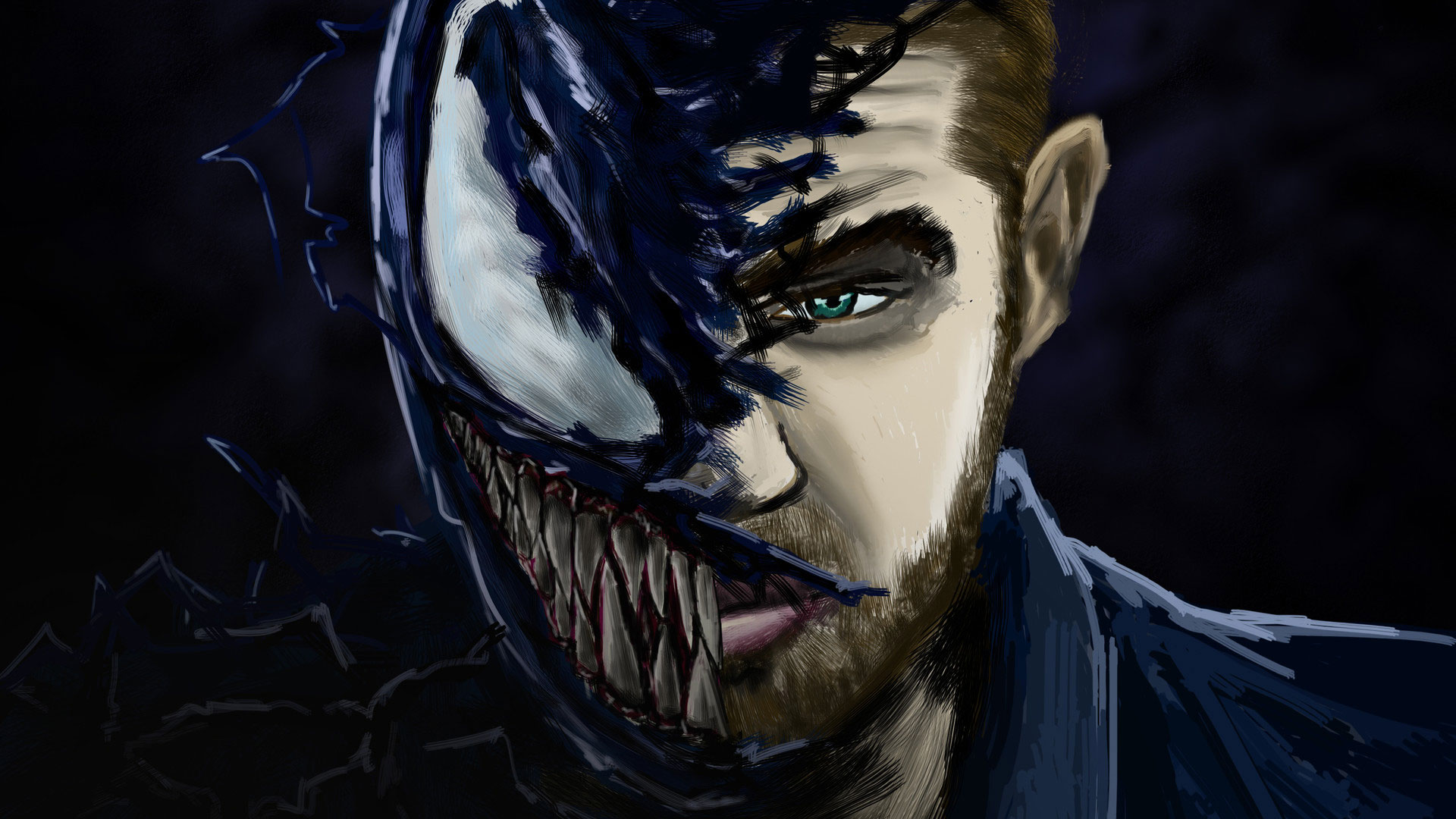 We Are Venom Artwork Hd Superheroes 4k Wallpapers Images