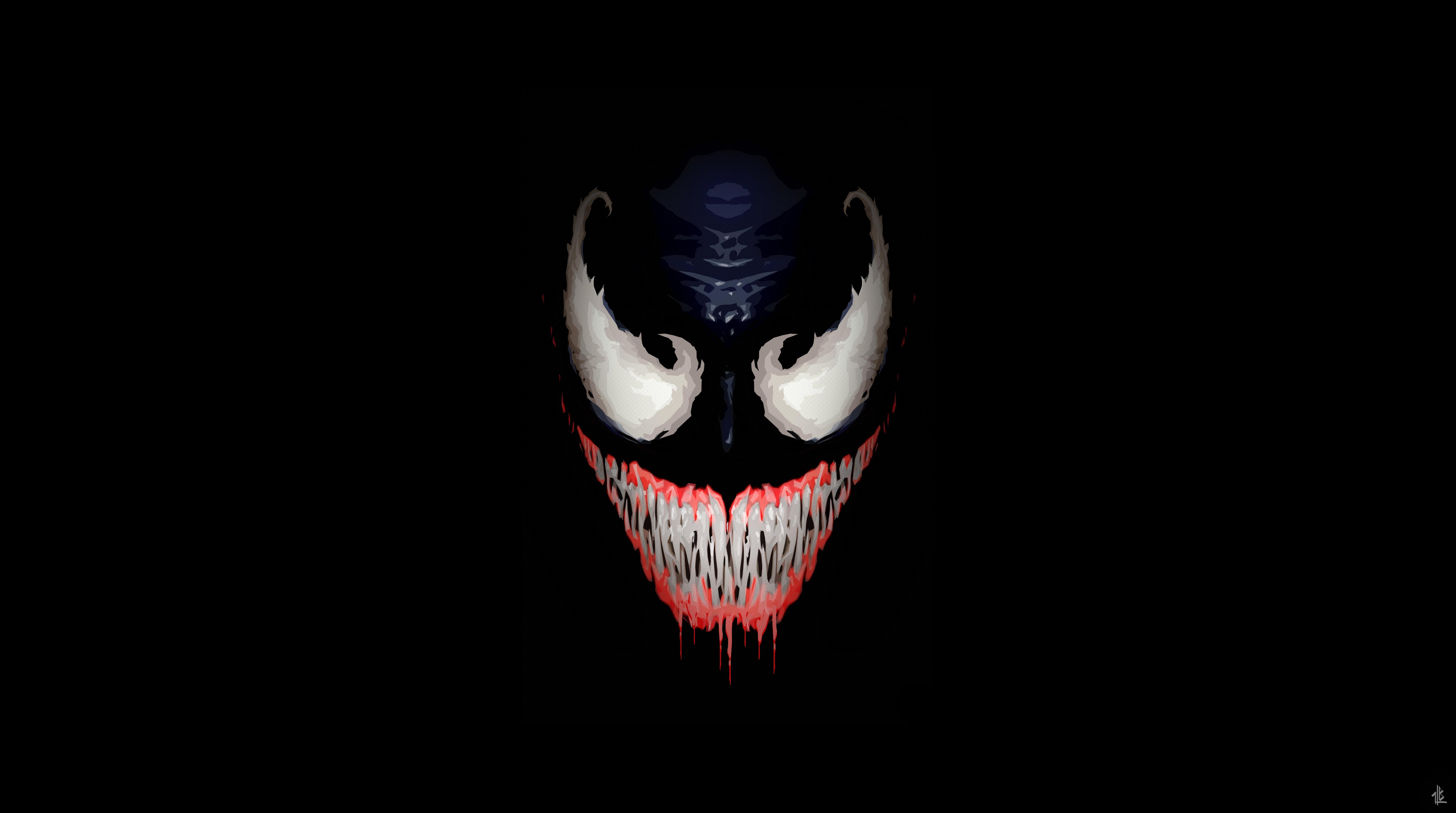 Venom Wallpapers Pictures Images: 2048x1152 We Are Venom Minimalism 5k 2048x1152 Resolution