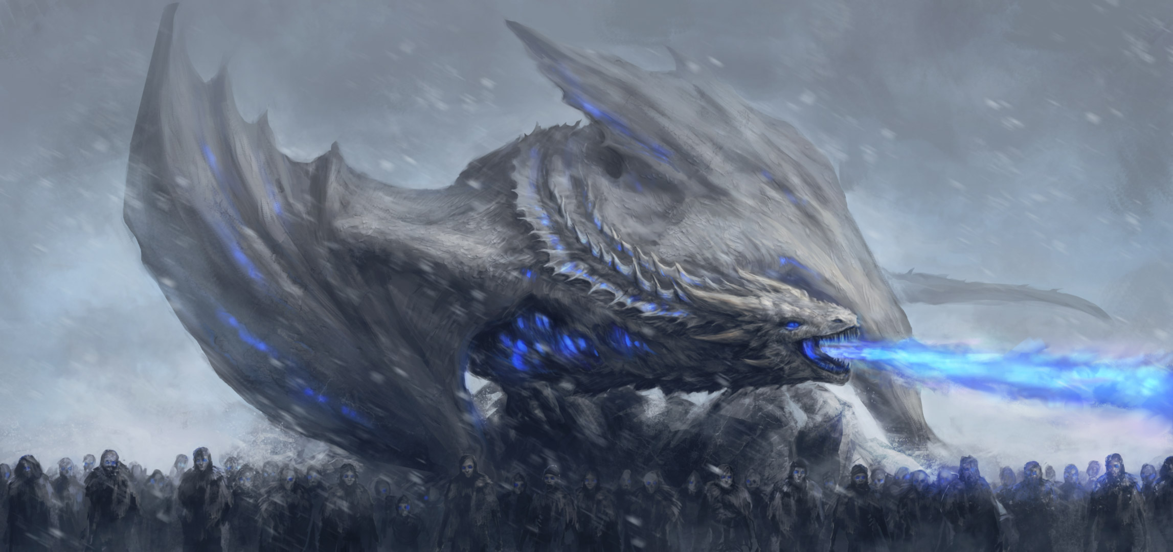 White Walkers Dragon Game Of Thrones HD Tv Shows 4k Wallpapers Images Backgrounds Photos