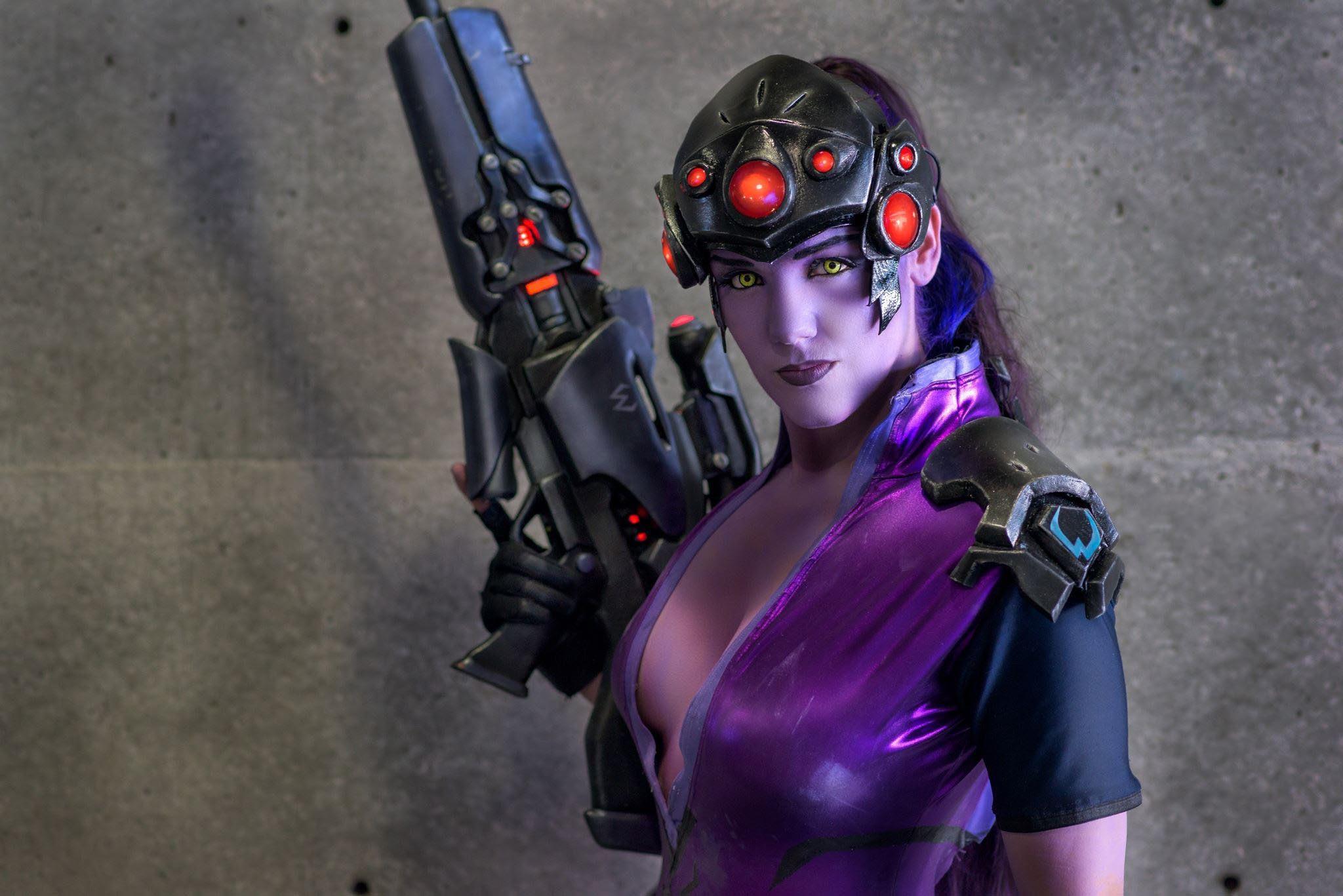 Widowmaker In Overwatch Video Game, HD Games, 4k
