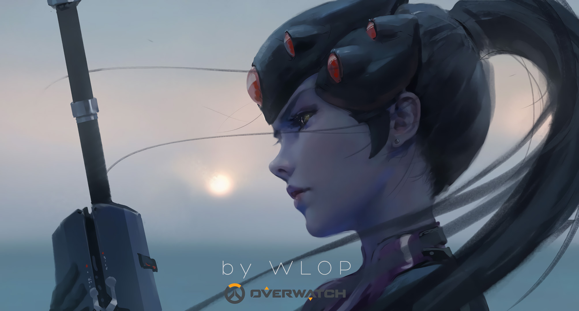 widowmaker overwatch wallpaper 1920x1080 - photo #27