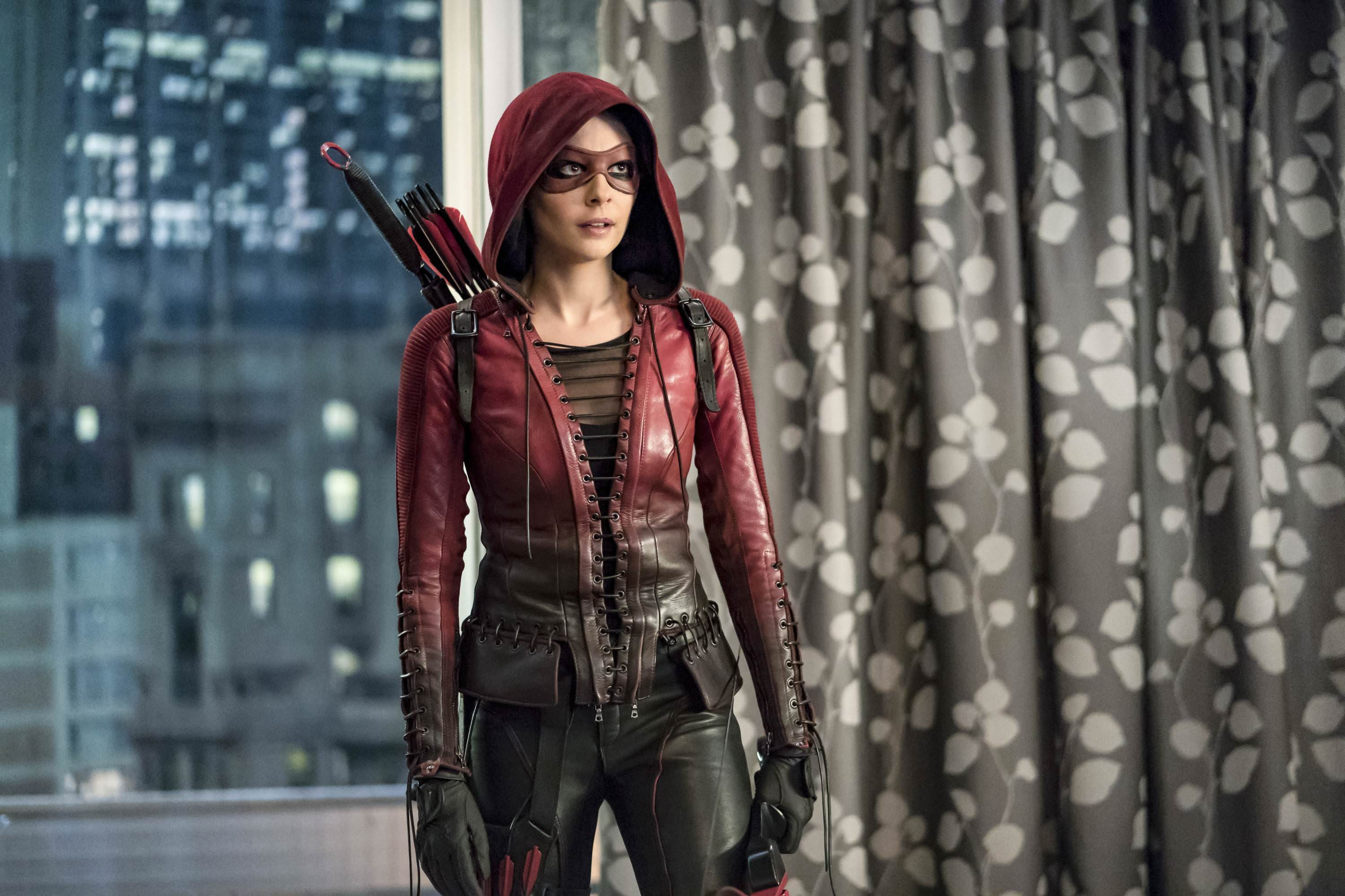 willa holland as thea queen in arrow tv series hd tv shows 4k