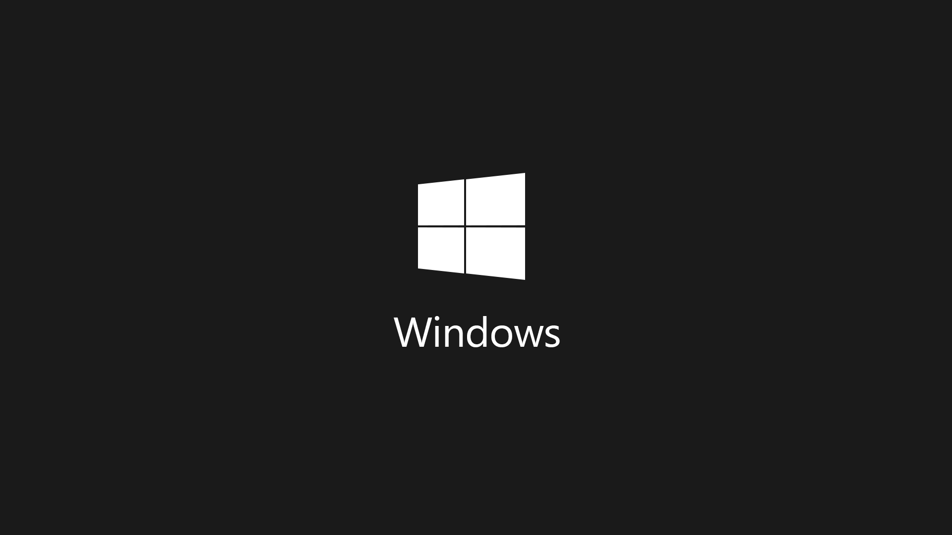 Windows Dark