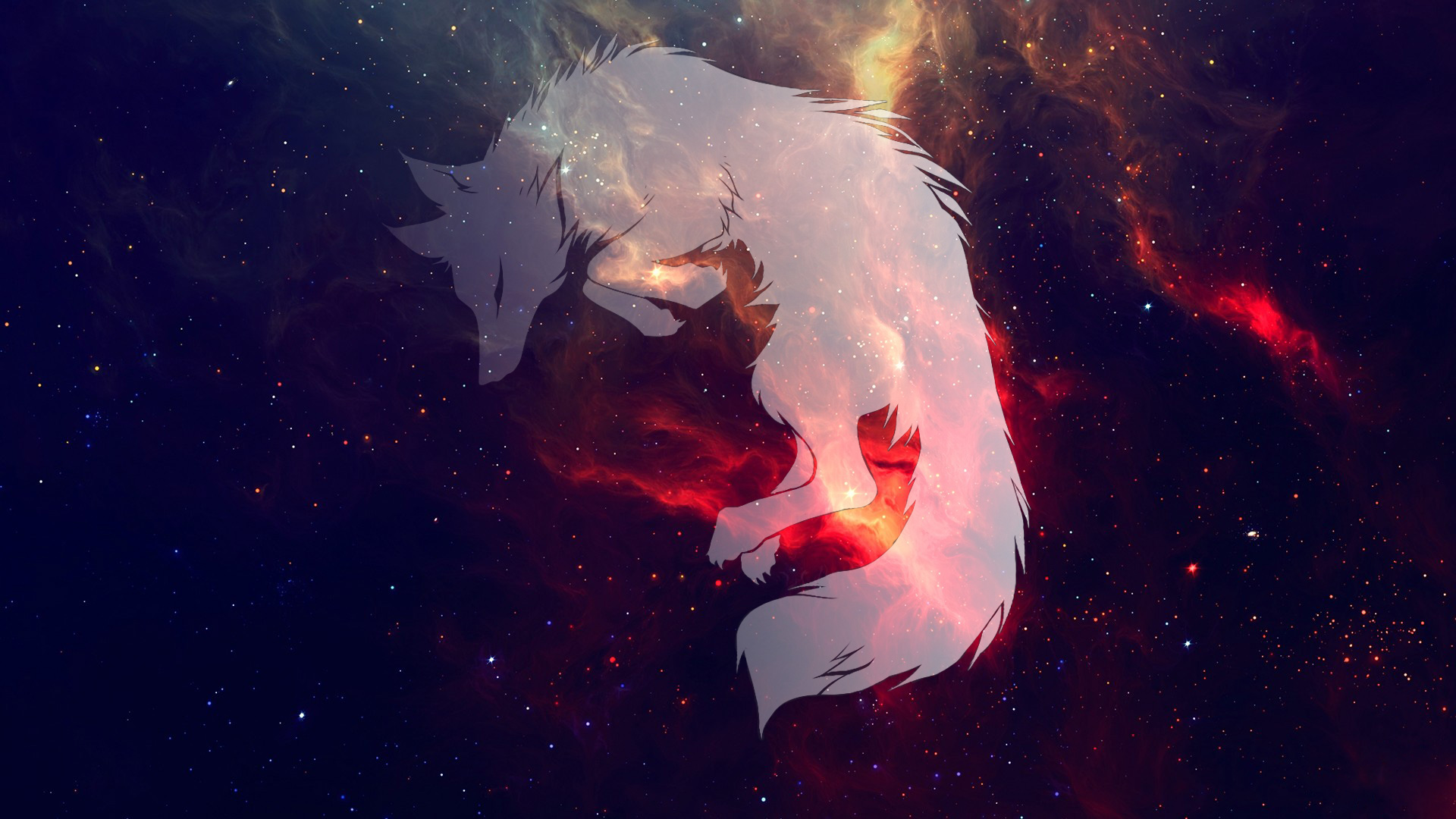 Wolf Fantasy Art Space Hd Artist 4k Wallpapers Images