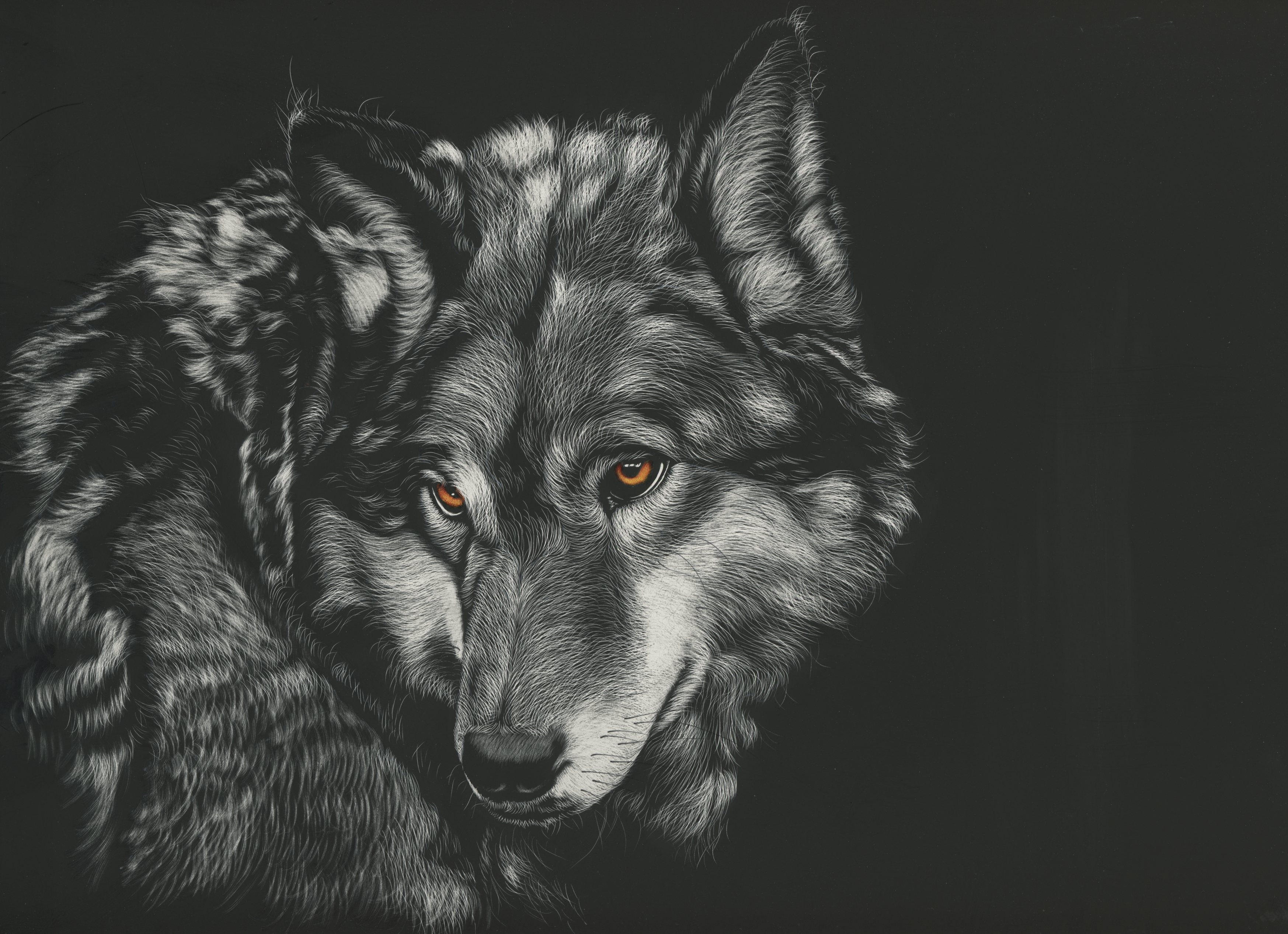 Good Wallpaper Macbook Wolf - wolf-painting-4k-s9  Trends_402979.jpg