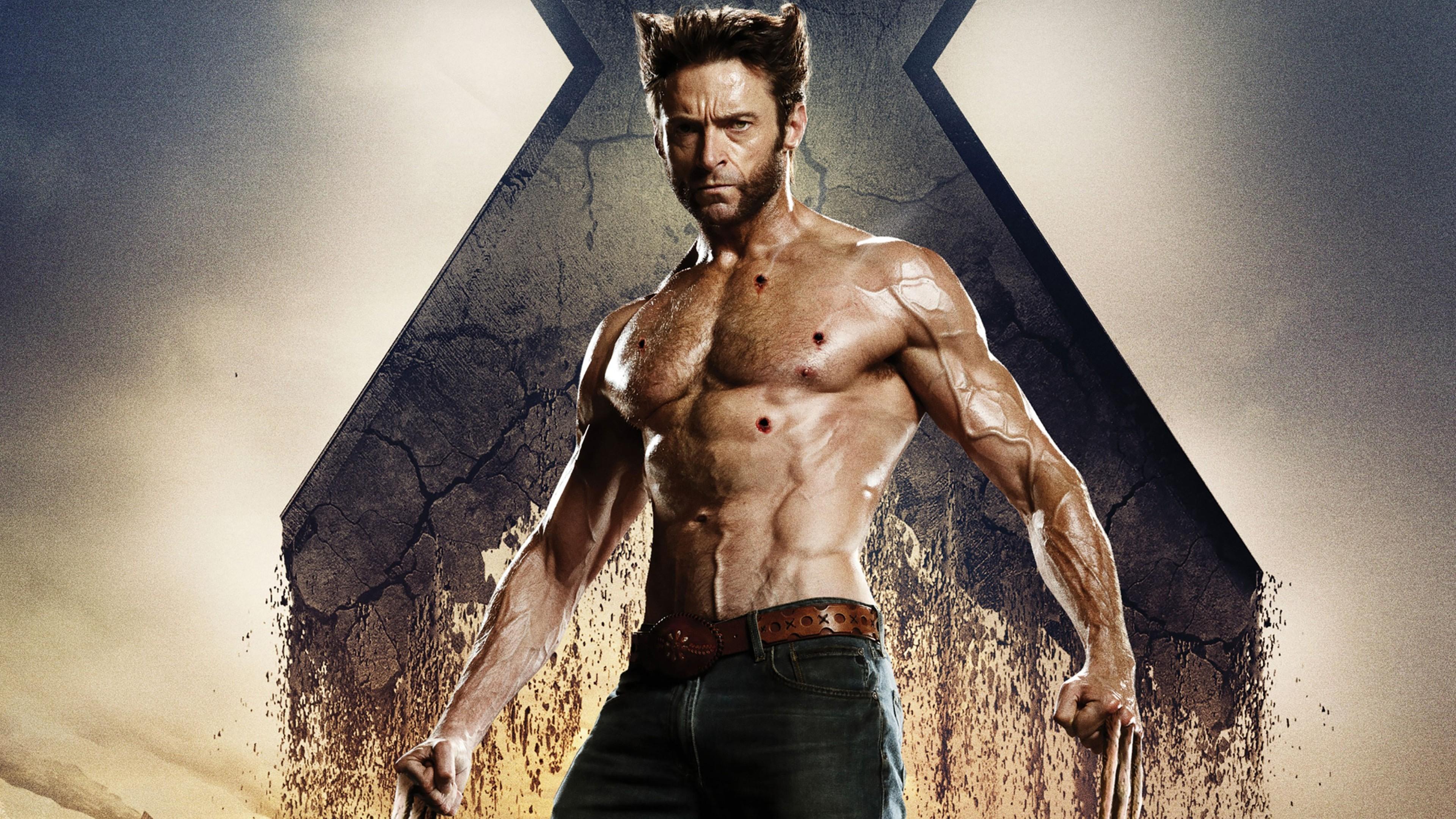 actor hugh jackman wolverine depth of field x men men Wallpapers HD