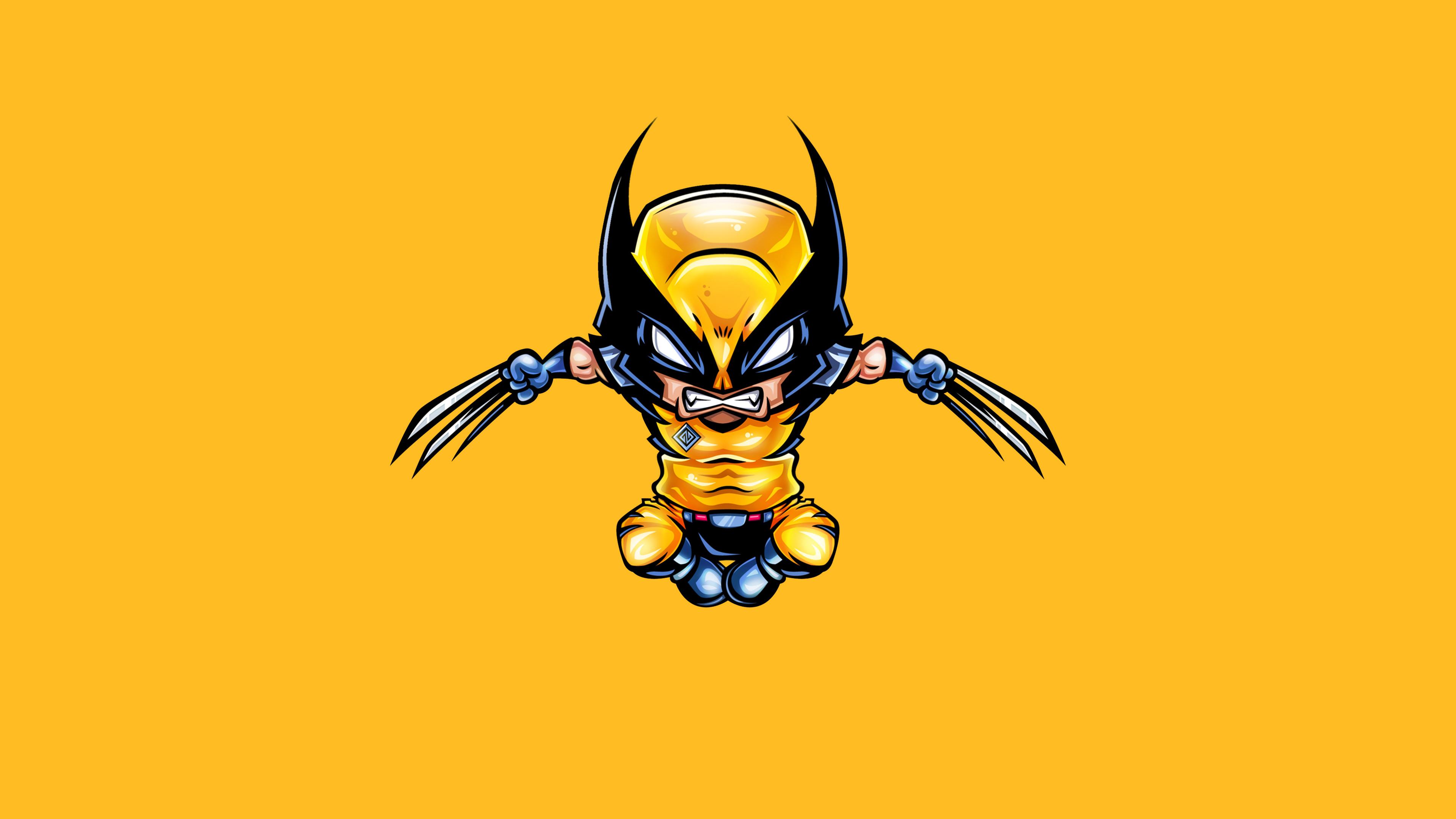 Wolverine Minimal 4k Hd Superheroes 4k Wallpapers Images