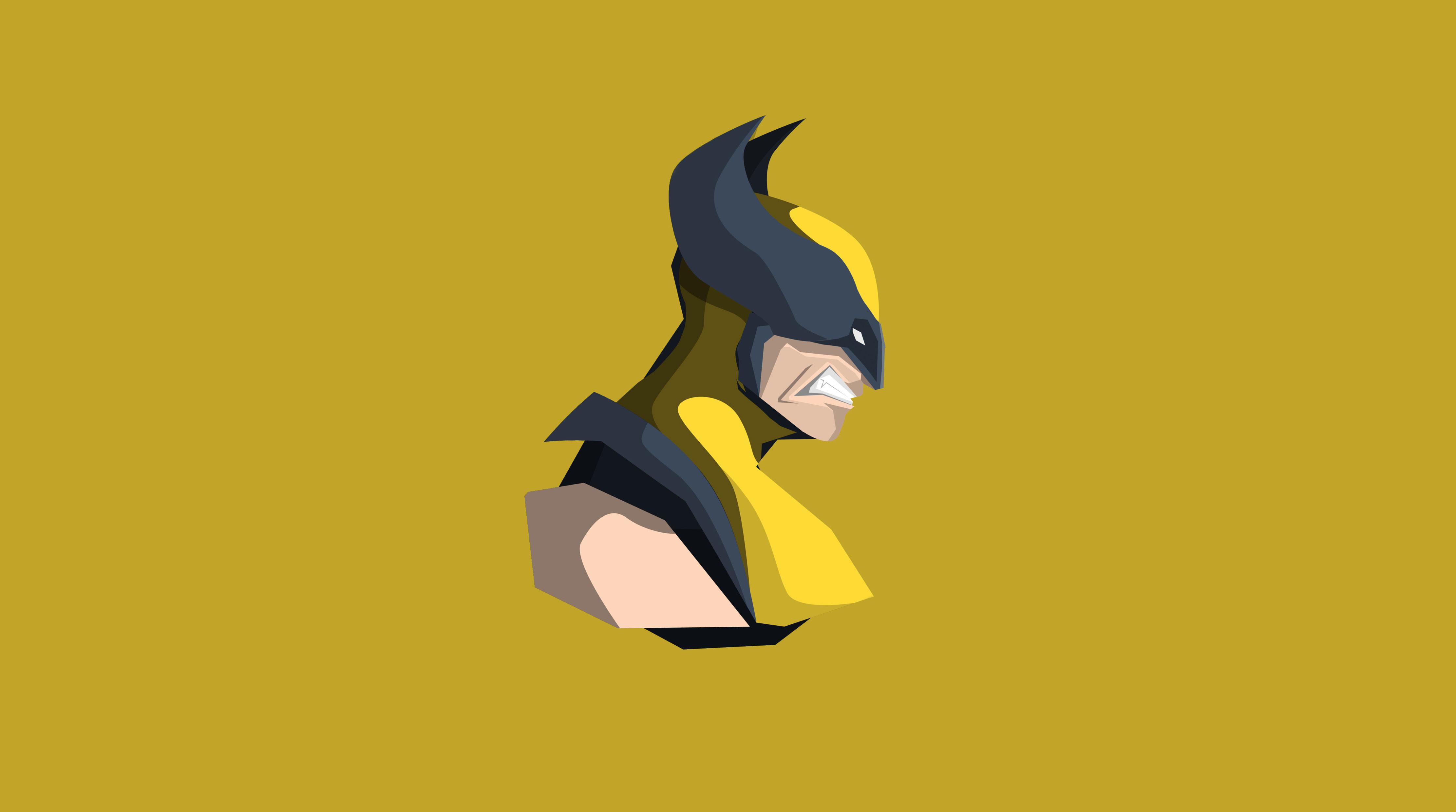 Wolverine Minimalism 4k Hd Superheroes 4k Wallpapers Images