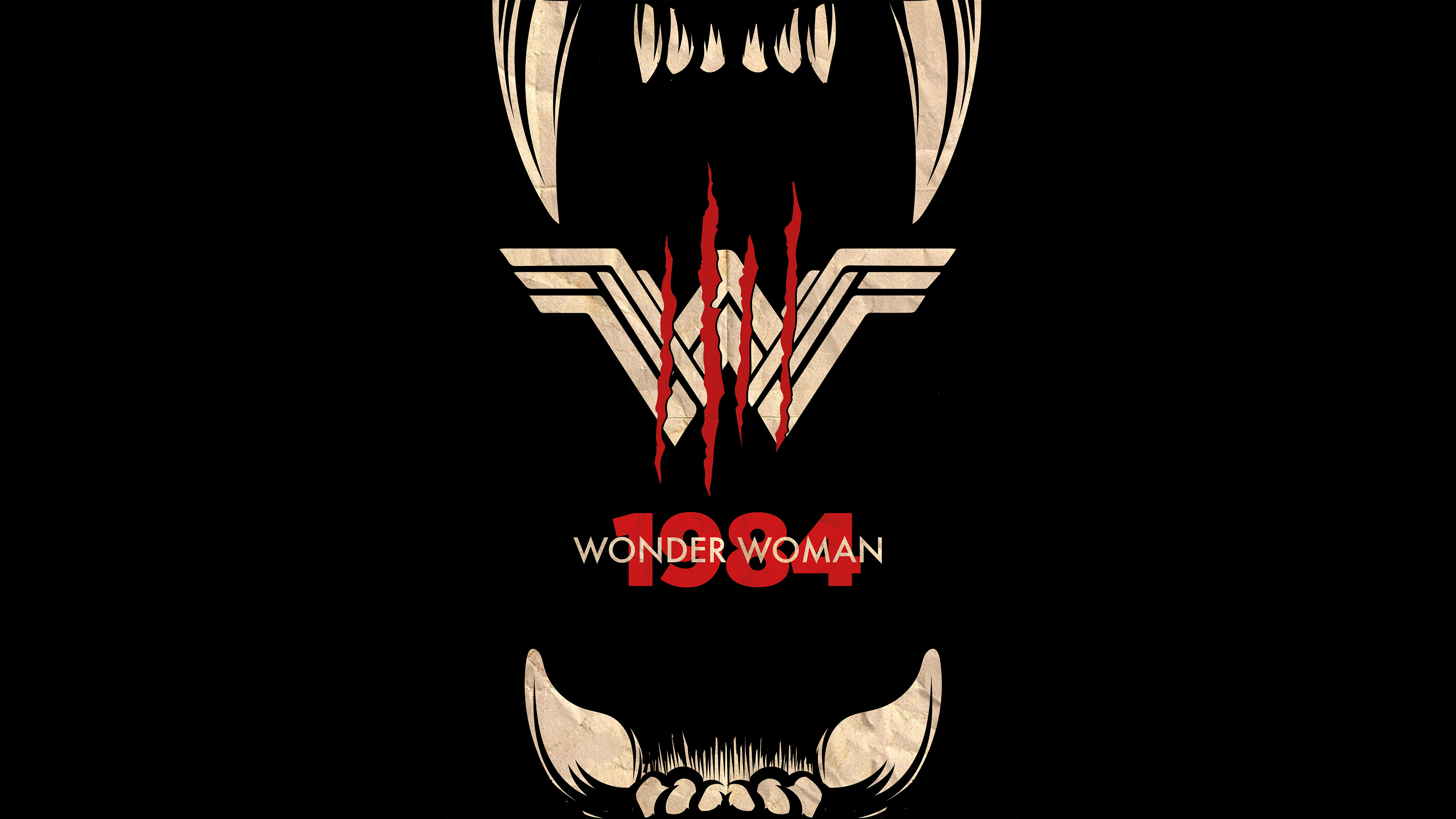 Wonder Woman 1984 Movie Poster Hd Movies 4k Wallpapers Images