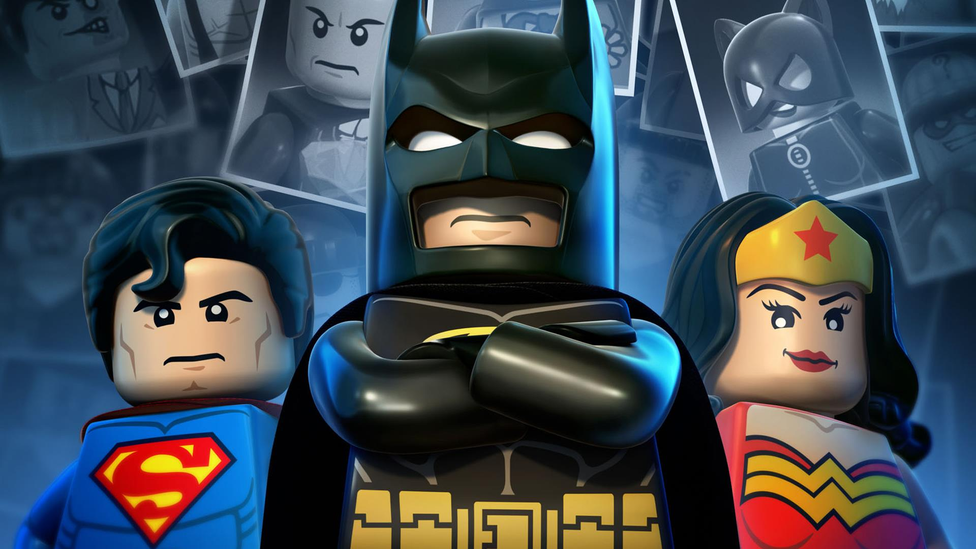 Wonder Woman Batman Superman Lego Hd Cartoons 4k Wallpapers