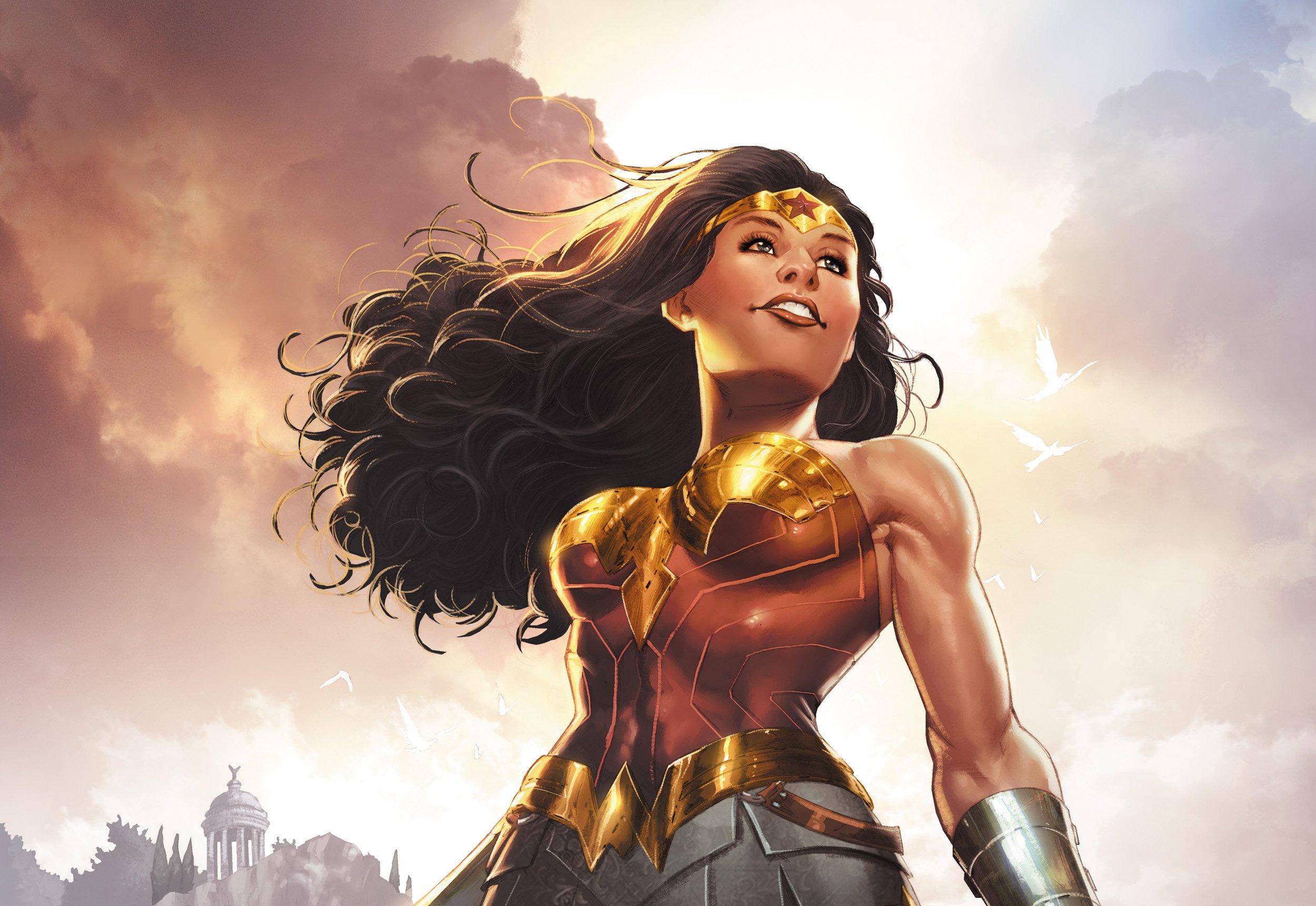 3840x2160 Wonder Woman DC Rebirth 4k HD 4k Wallpapers
