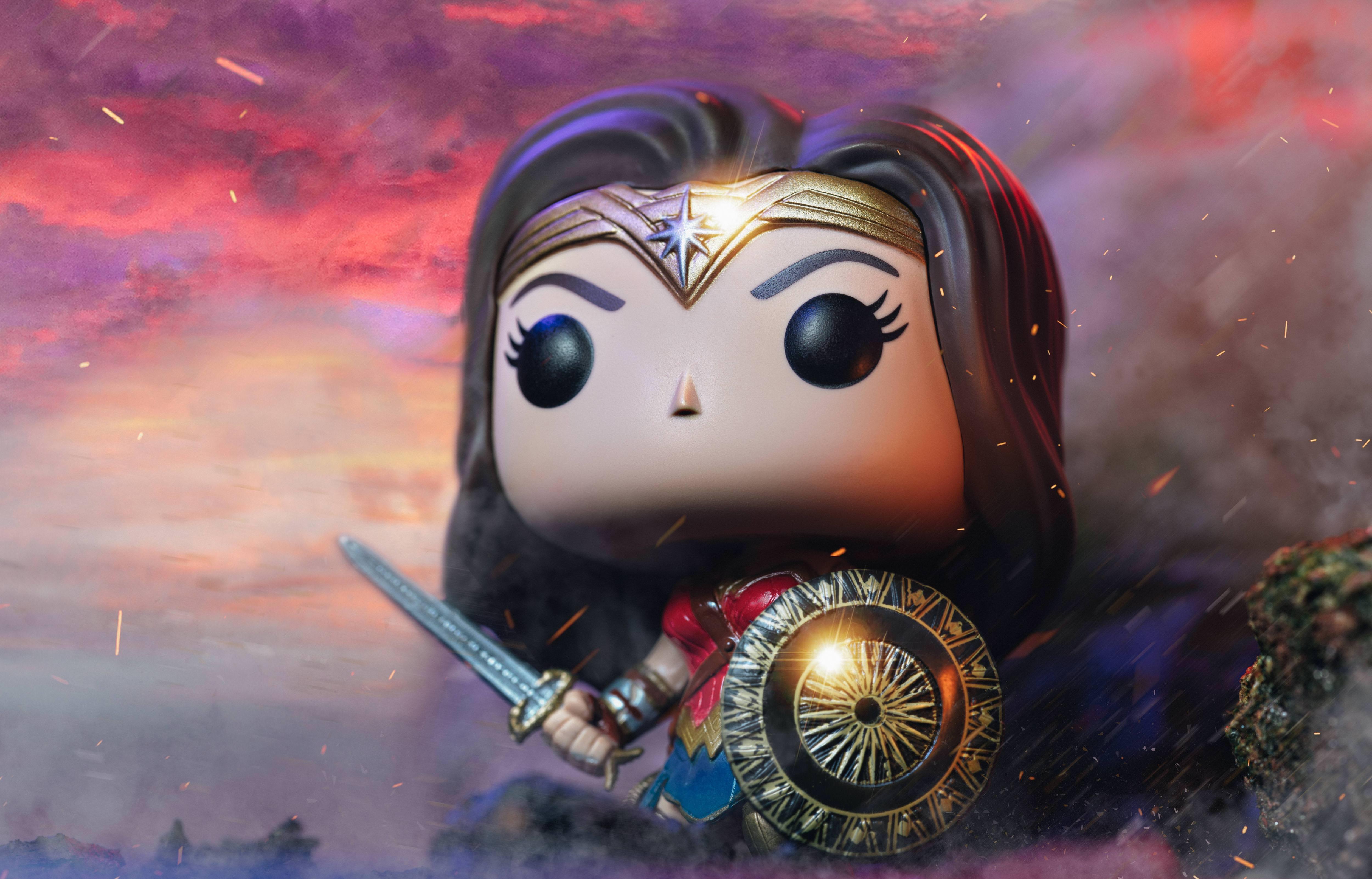 Wallpaper Wonder Woman Diana Prince Gal Gadot HD Movies