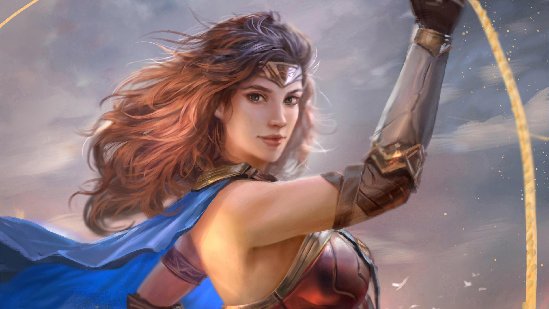 Wonder Woman Justice League 4k Fan Art Hd Movies 4k: 1920x1080 Wonder Woman Justice League Art Laptop Full HD