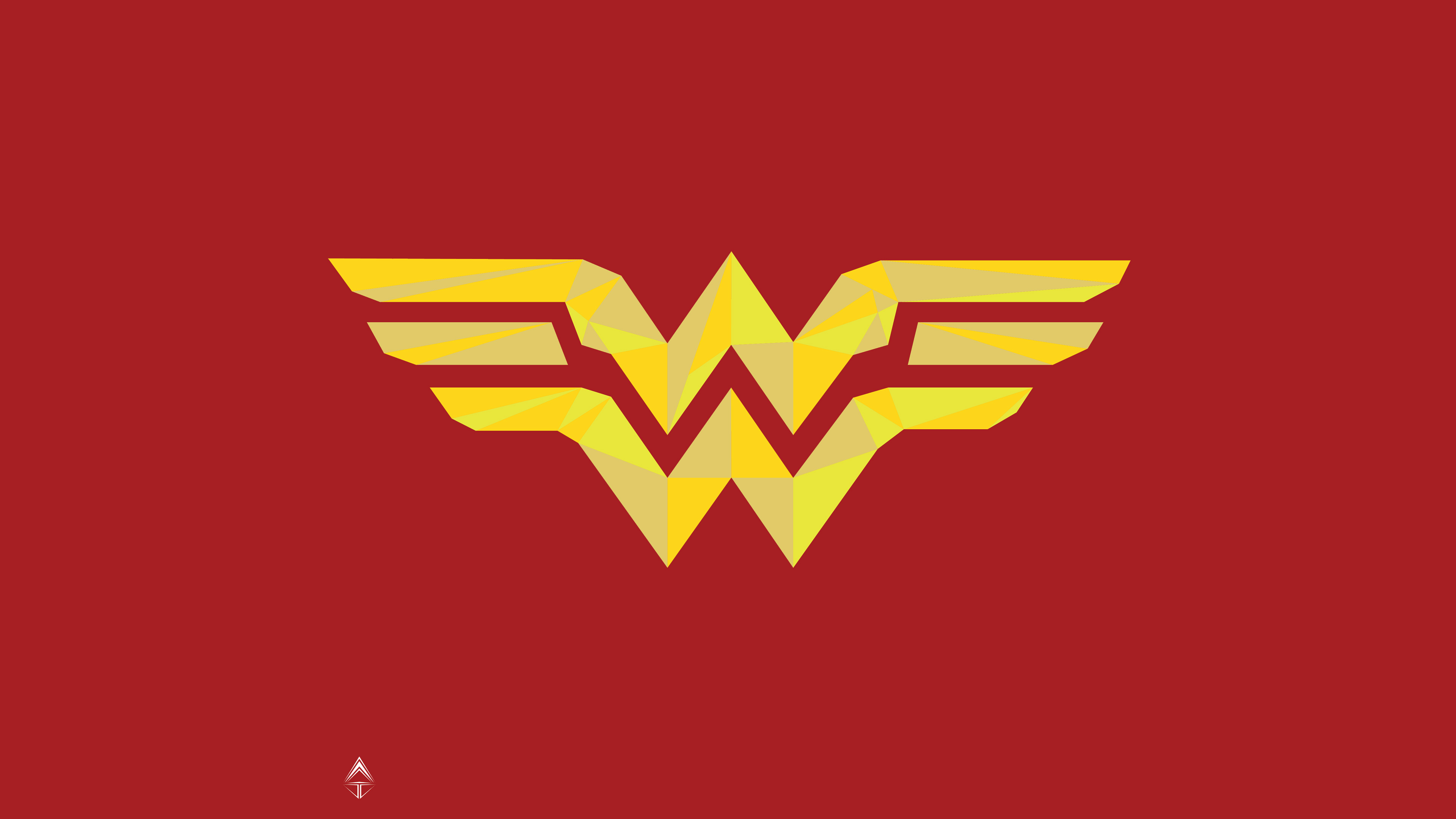 Wonder Woman Logo 4k Artwork, HD Superheroes, 4k ...
