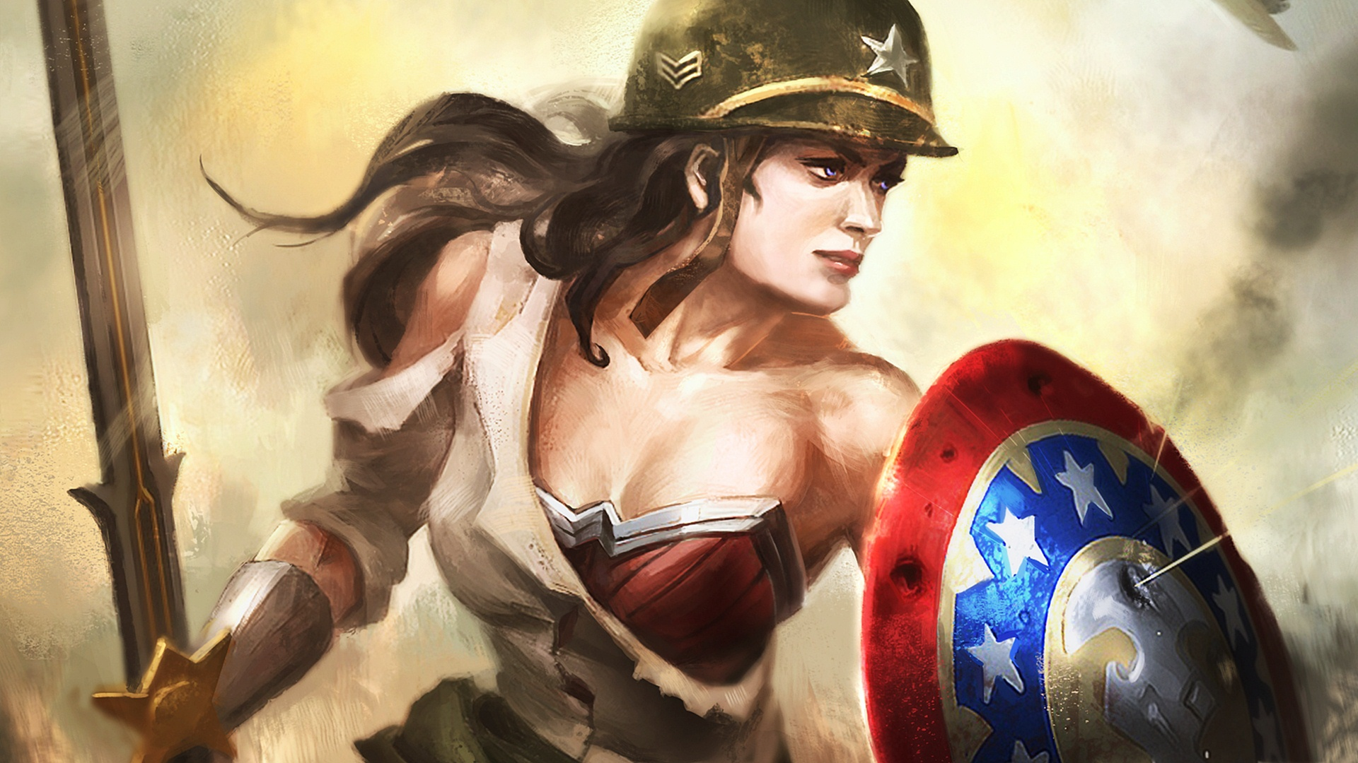 Wonder Woman Warrior Hd Superheroes 4k Wallpapers Images
