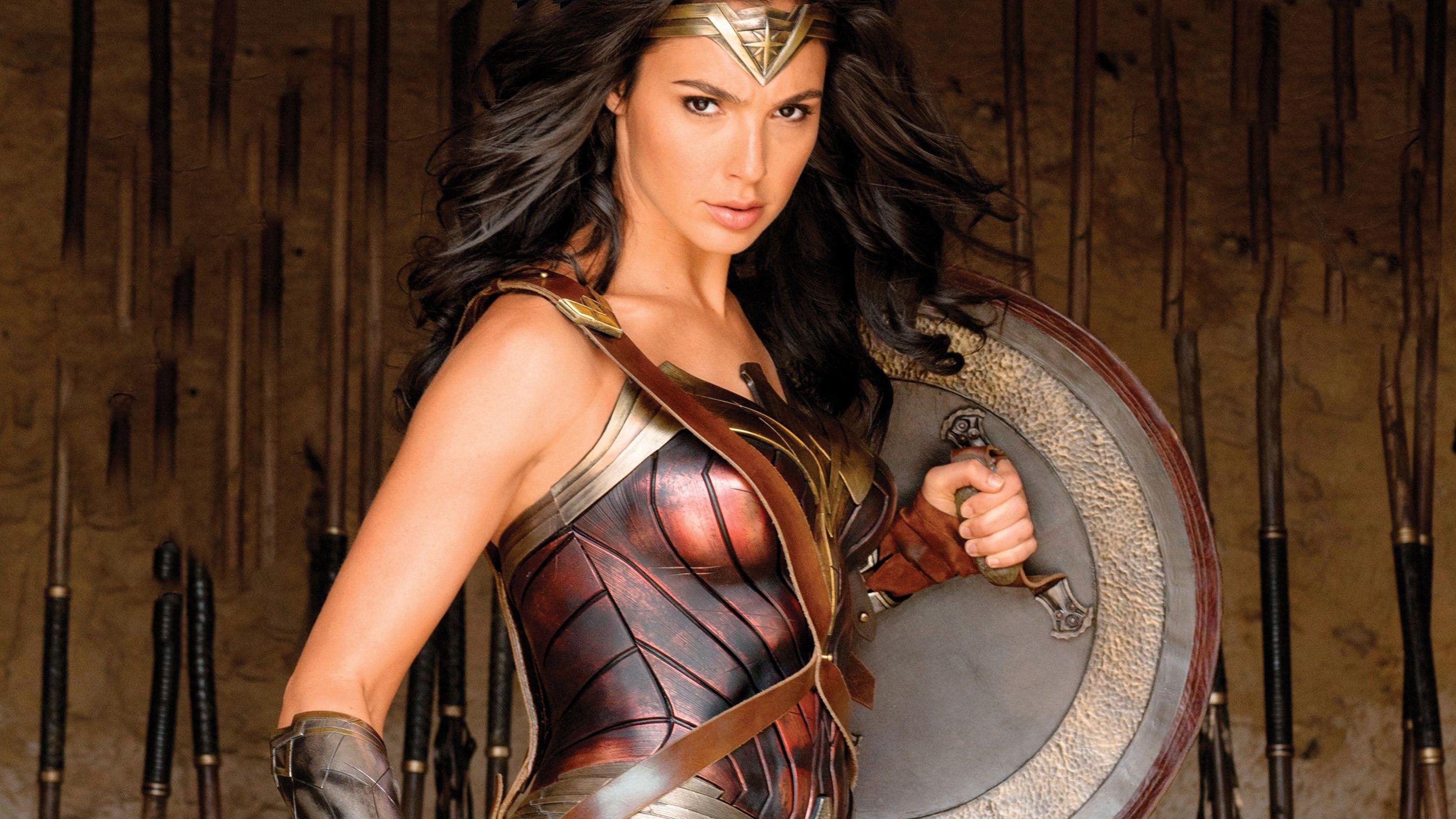 Wallpaper Gal Gadot Wonder Woman Hd Movies 7553: Wonder Woman With Shield, HD Movies, 4k Wallpapers, Images